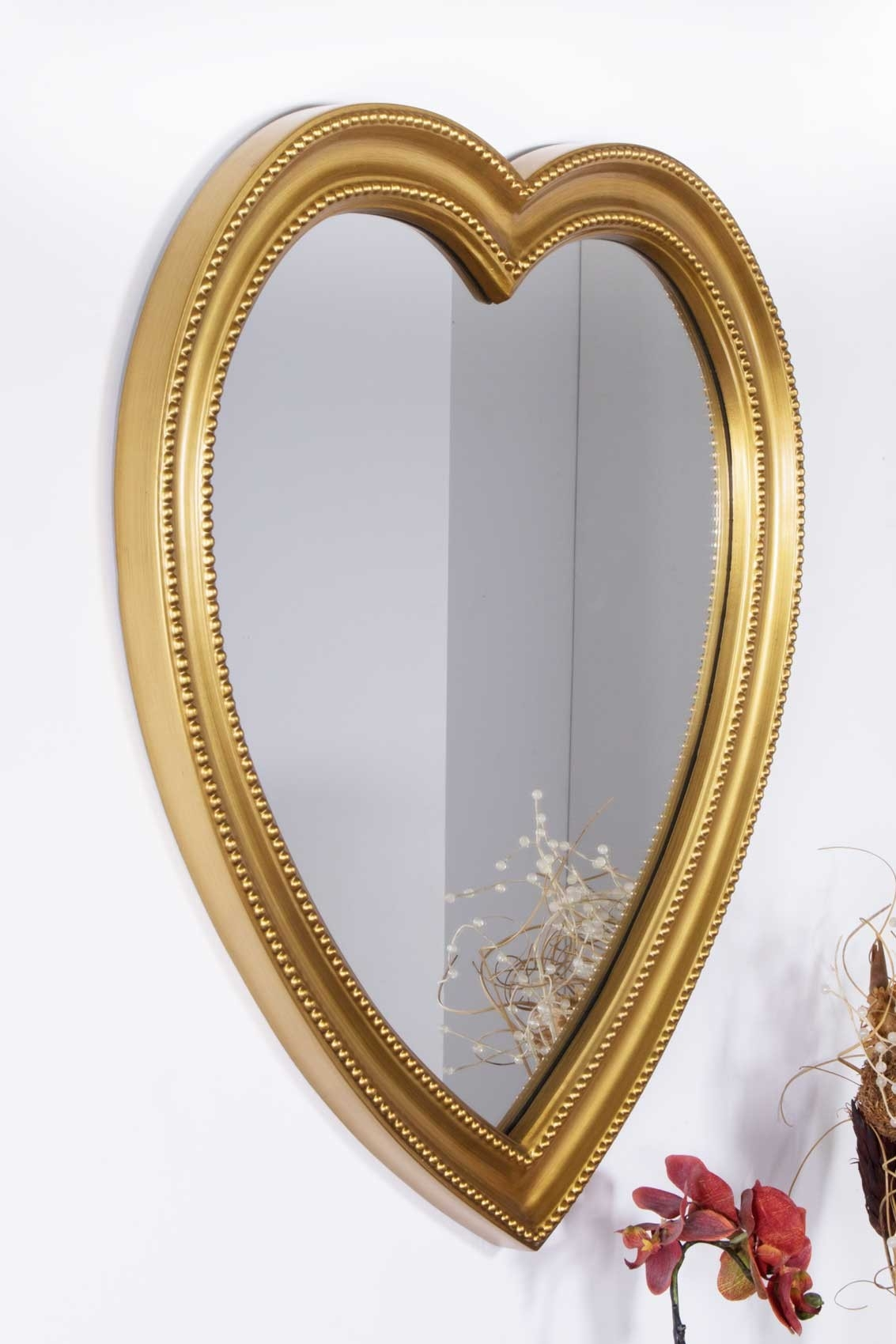 Very Large Heart Shaped Wall Mirror Amp Rv83