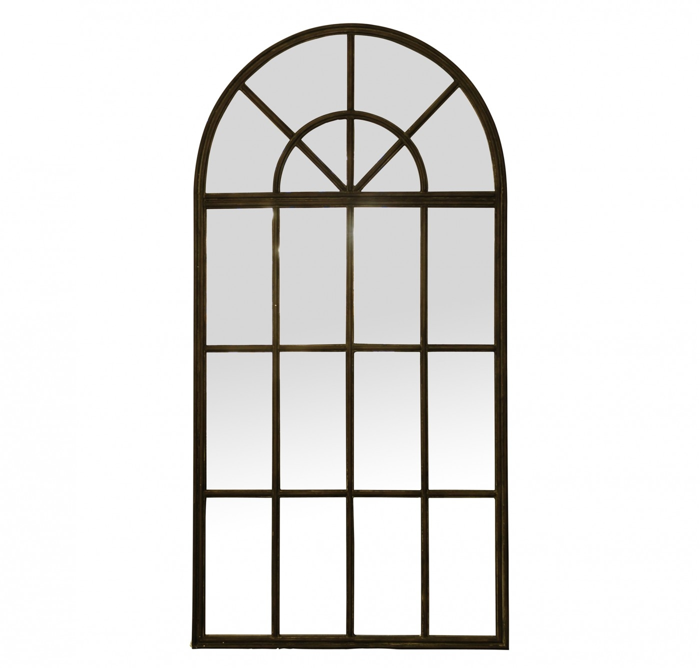 Large Iron Arch Mirror Arches Industrial And The Ojays Pertaining To Large Arched Window Mirror (Image 11 of 15)