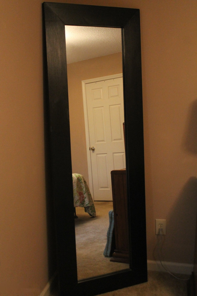 Large Mirror Etsy Inside Large Brown Mirror (Image 10 of 15)