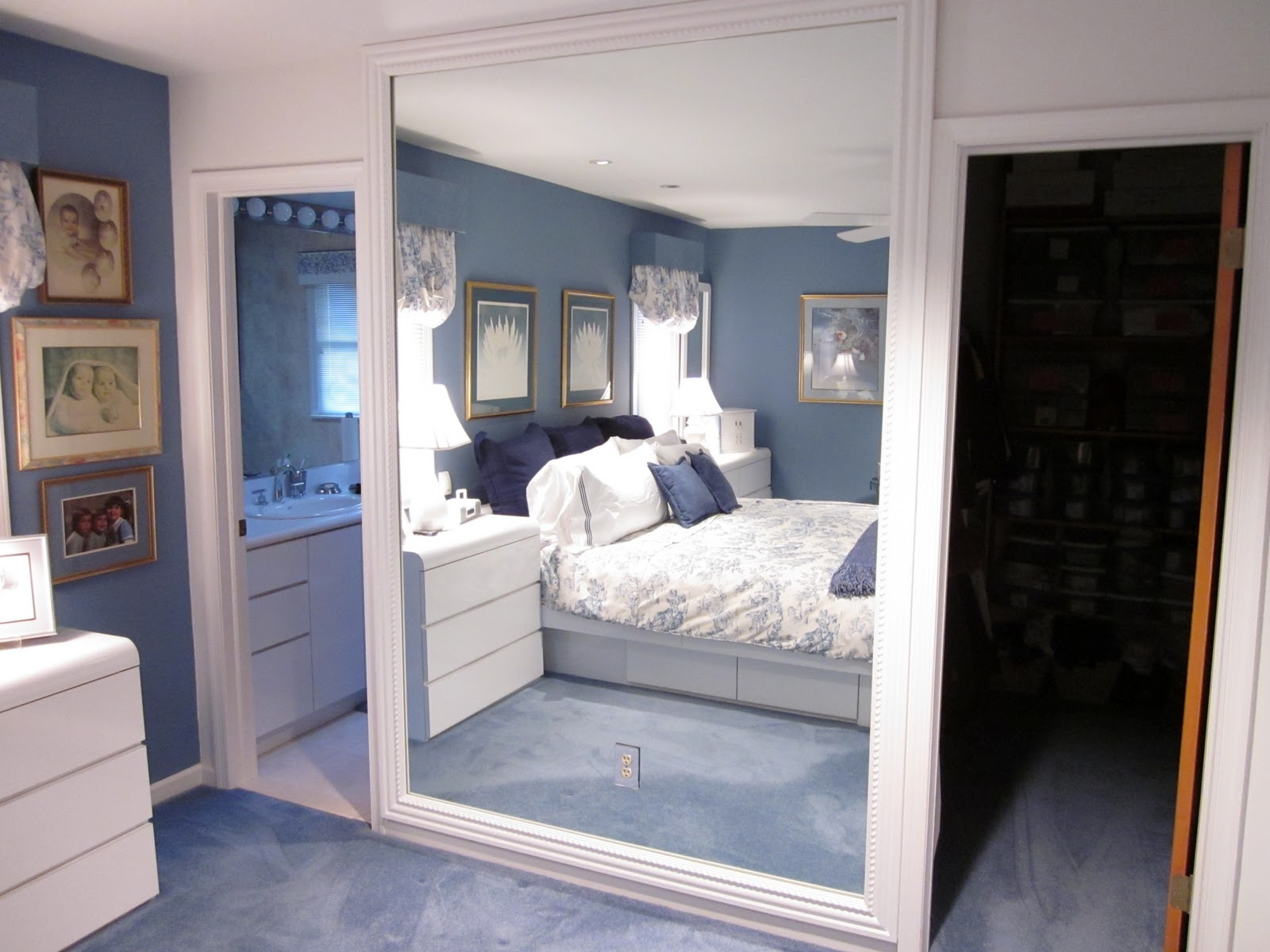 Large Mirror For Wall Wall Shelves In Massive Wall Mirrors (Image 11 of 15)