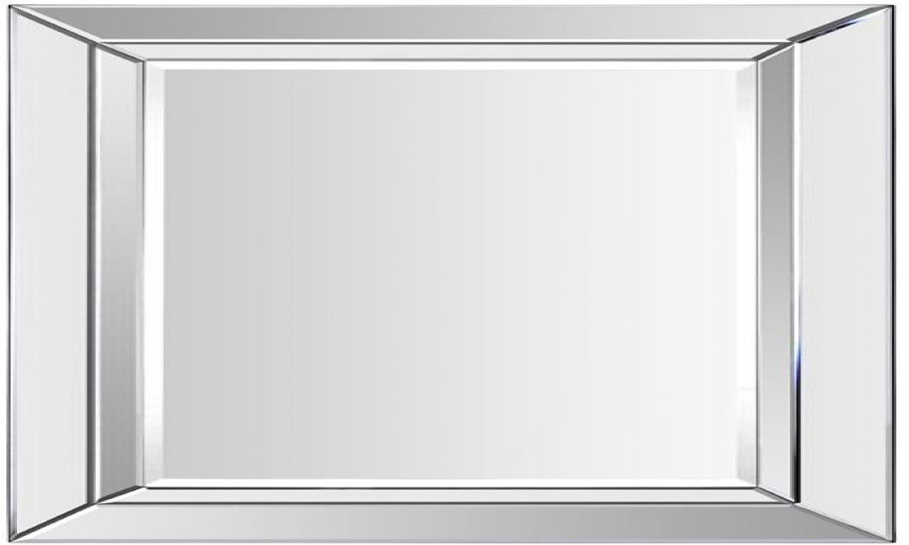 Large Mirror No Frame Frameless Beveled Glass Mirrors Large Throughout Frameless Large Mirror (View 15 of 15)