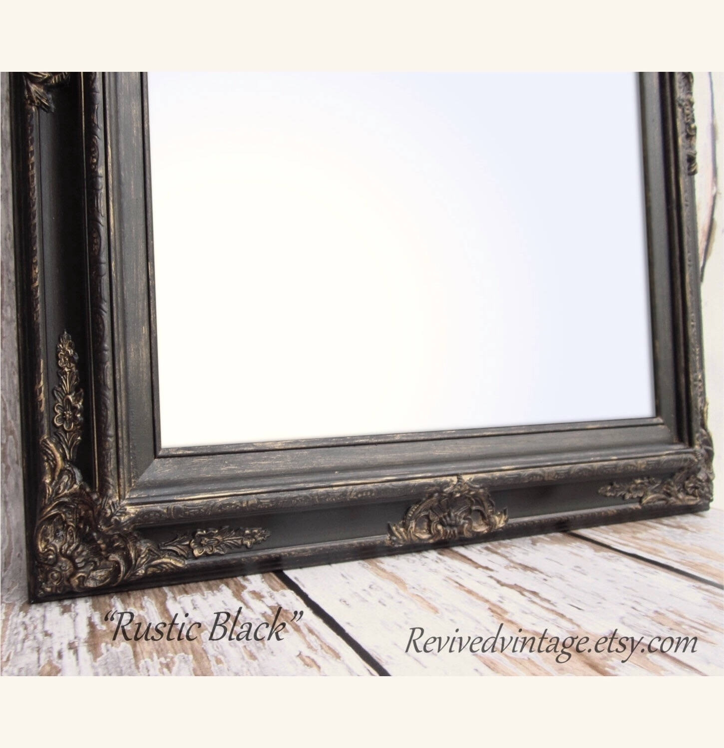 Large Ornate Mirror Etsy Regarding Large Ornate Mirrors For Sale (Image 10 of 15)