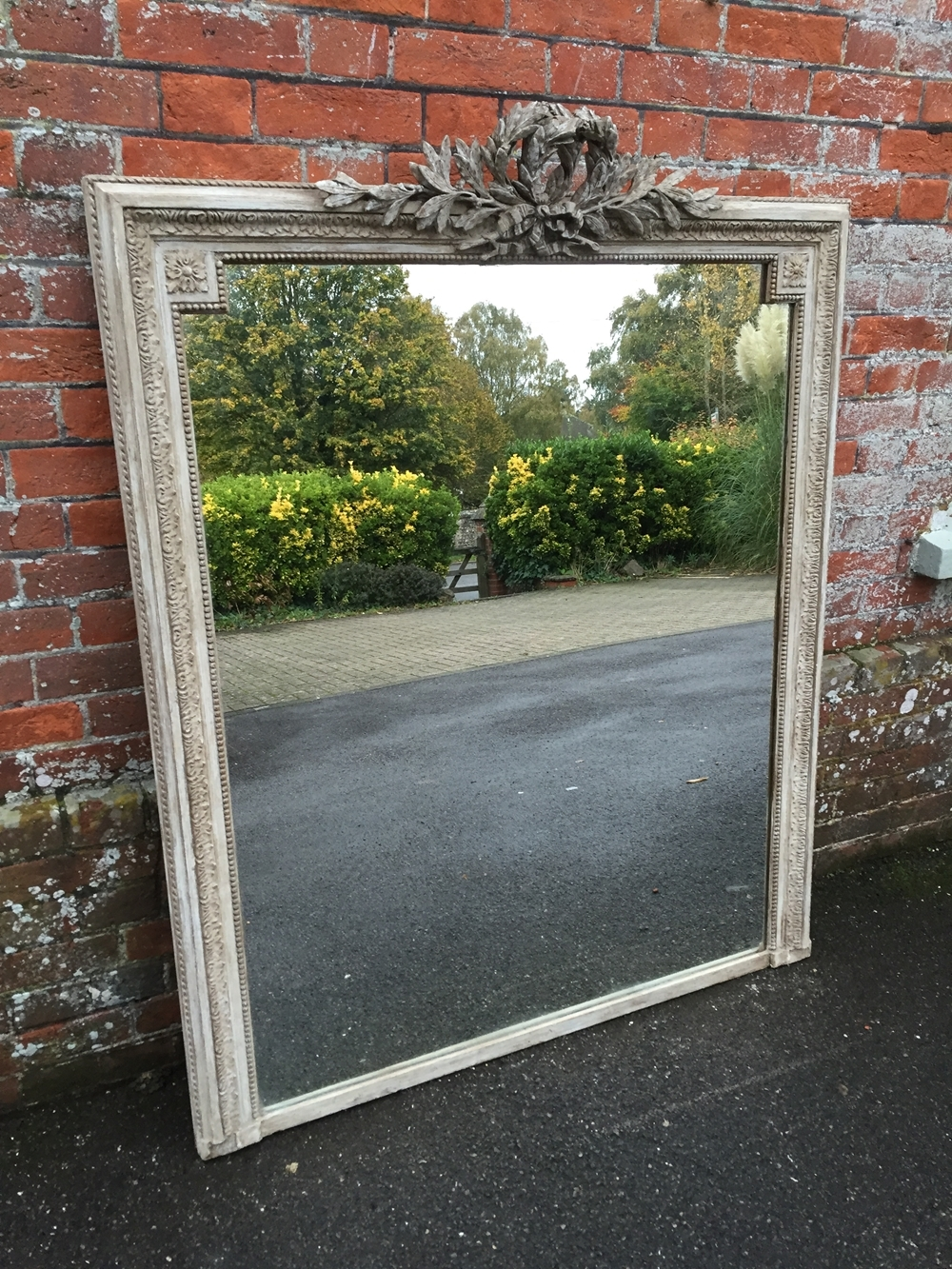 Large Overmantle Mirrors Uk Antique Overmantle Mirrors For Sale For Large French Mirrors (Image 12 of 15)