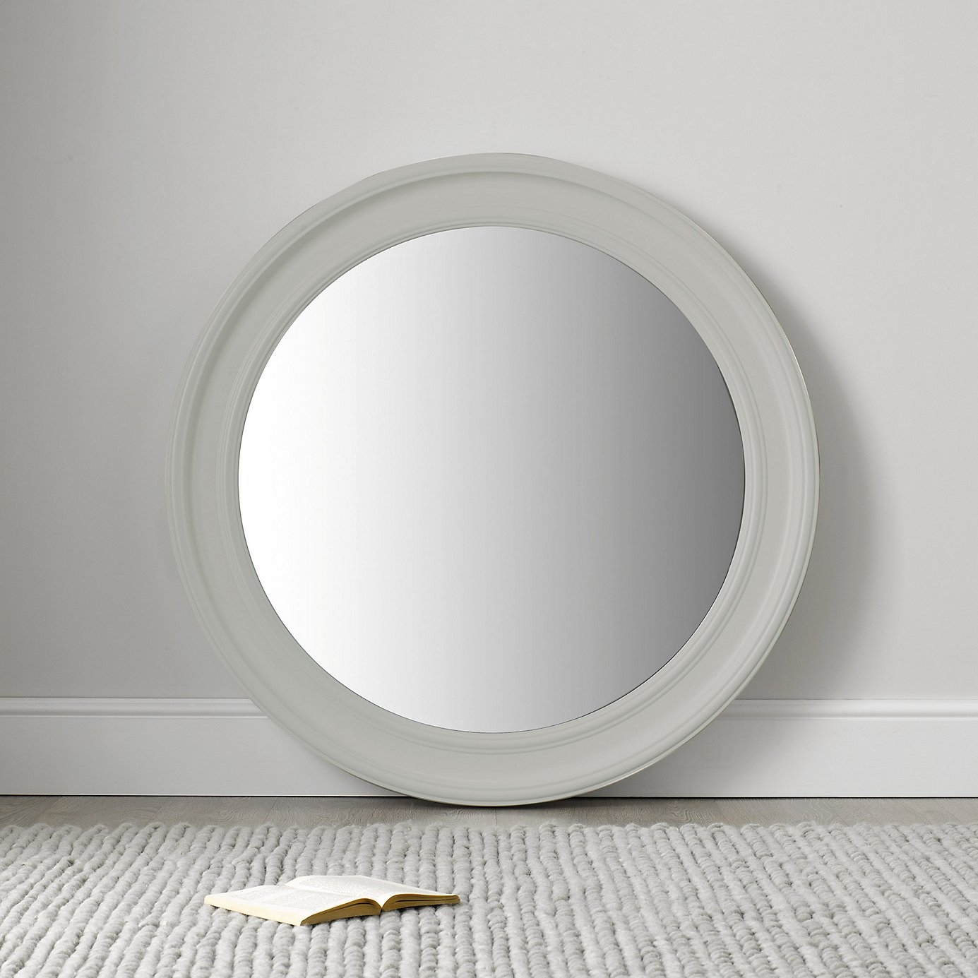 15 Best Collection Of White Round Mirror Mirror Ideas