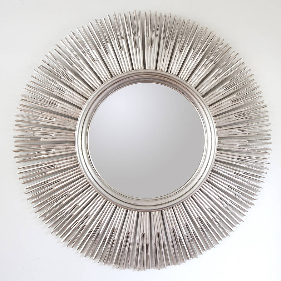 Large Round Contemporary Mirrors Maple Lawn Best Home Magazine Intended For Contempory Mirrors (Image 11 of 15)