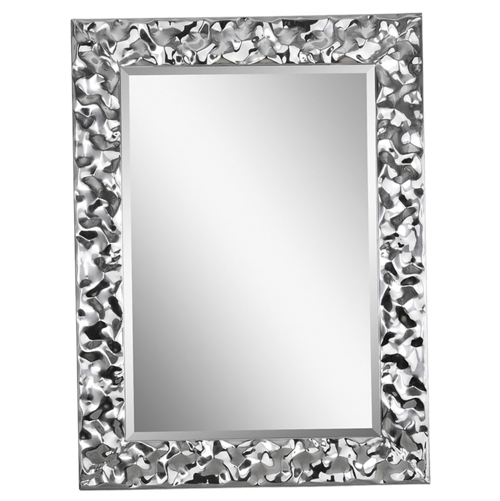 Large Silver Wall Mirror Wall Shelves For Silver Ornate Framed Mirror (Image 7 of 15)