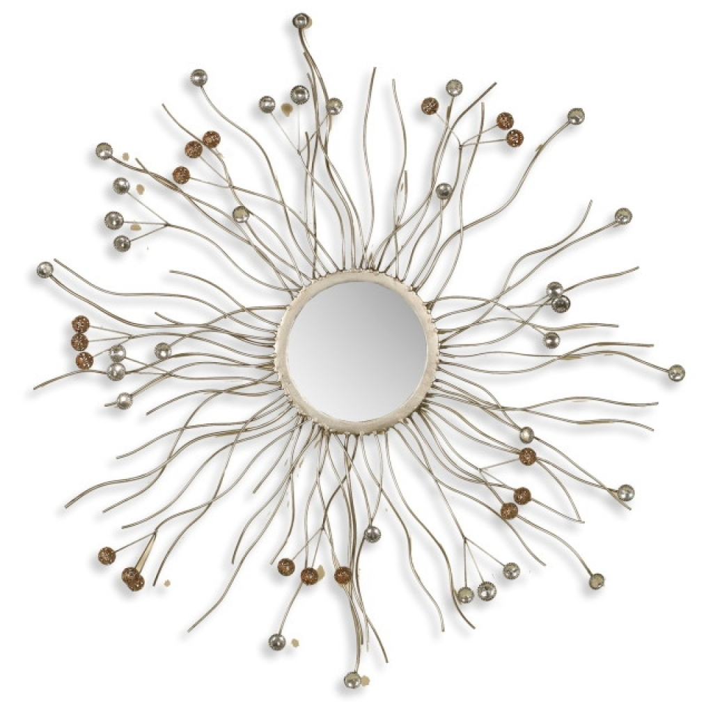 Large Soleil Sunburst Wall Mirror For Sale At 1stdibs Silver Within Large Sunburst Mirrors For Sale (Image 7 of 15)