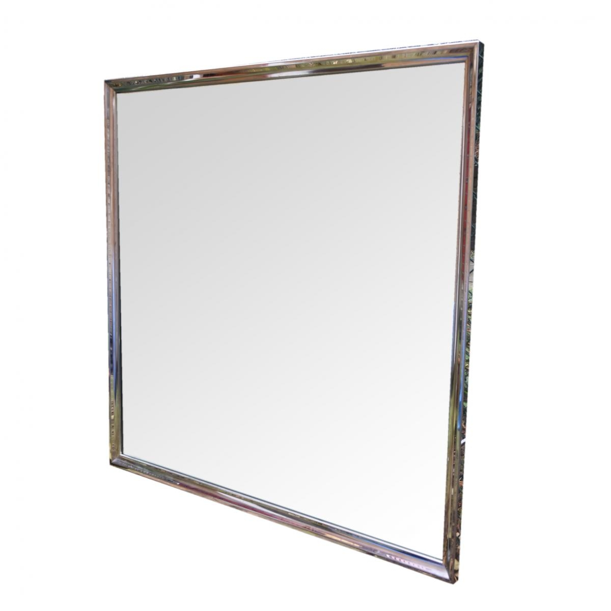 Large Square Mirror 1970s For Sale At Pamono Pertaining To Large Square Mirror (View 6 of 15)