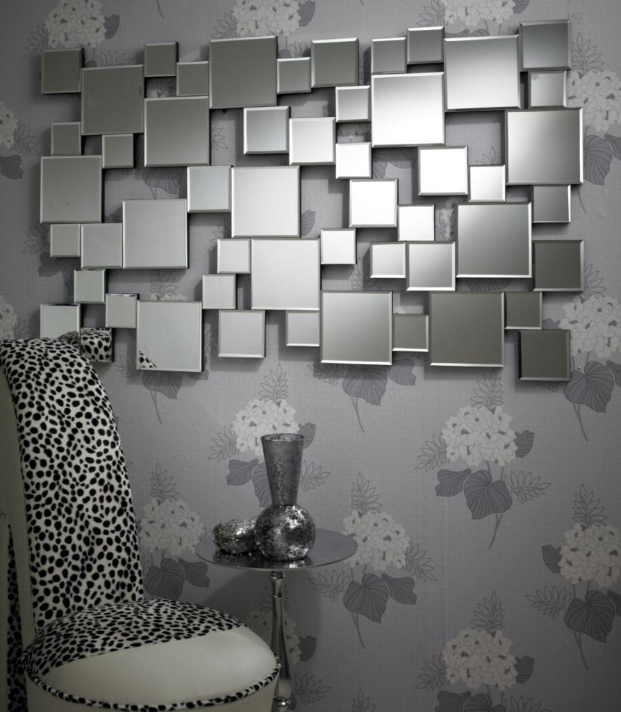 Large Squares Contemporary Mirror Mhlargesquares 24500 Throughout Contemporary Mirror (Image 11 of 15)