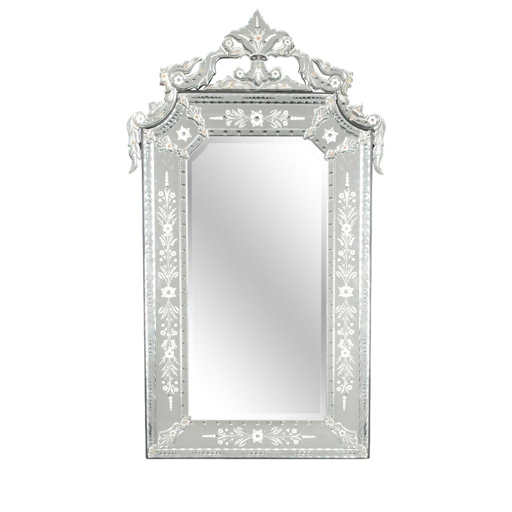 Large Venetian Mirror At 1stdibs With Large Venetian Mirror (Image 8 of 15)