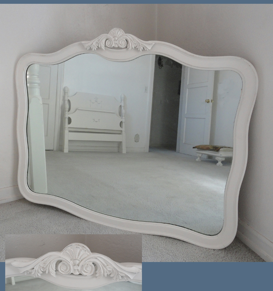 Large Vintage Mirrors Commercial 1 Bluegrass Pinterest The With Regard To Large Vintage Mirrors (Image 10 of 15)