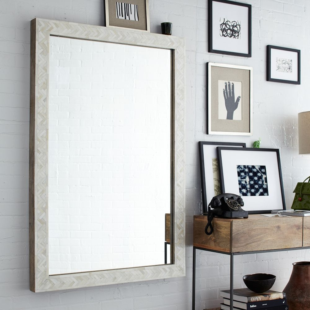 Large Wall Mirror Wall Shelves With Large Wall Mirrors (Image 7 of 15)
