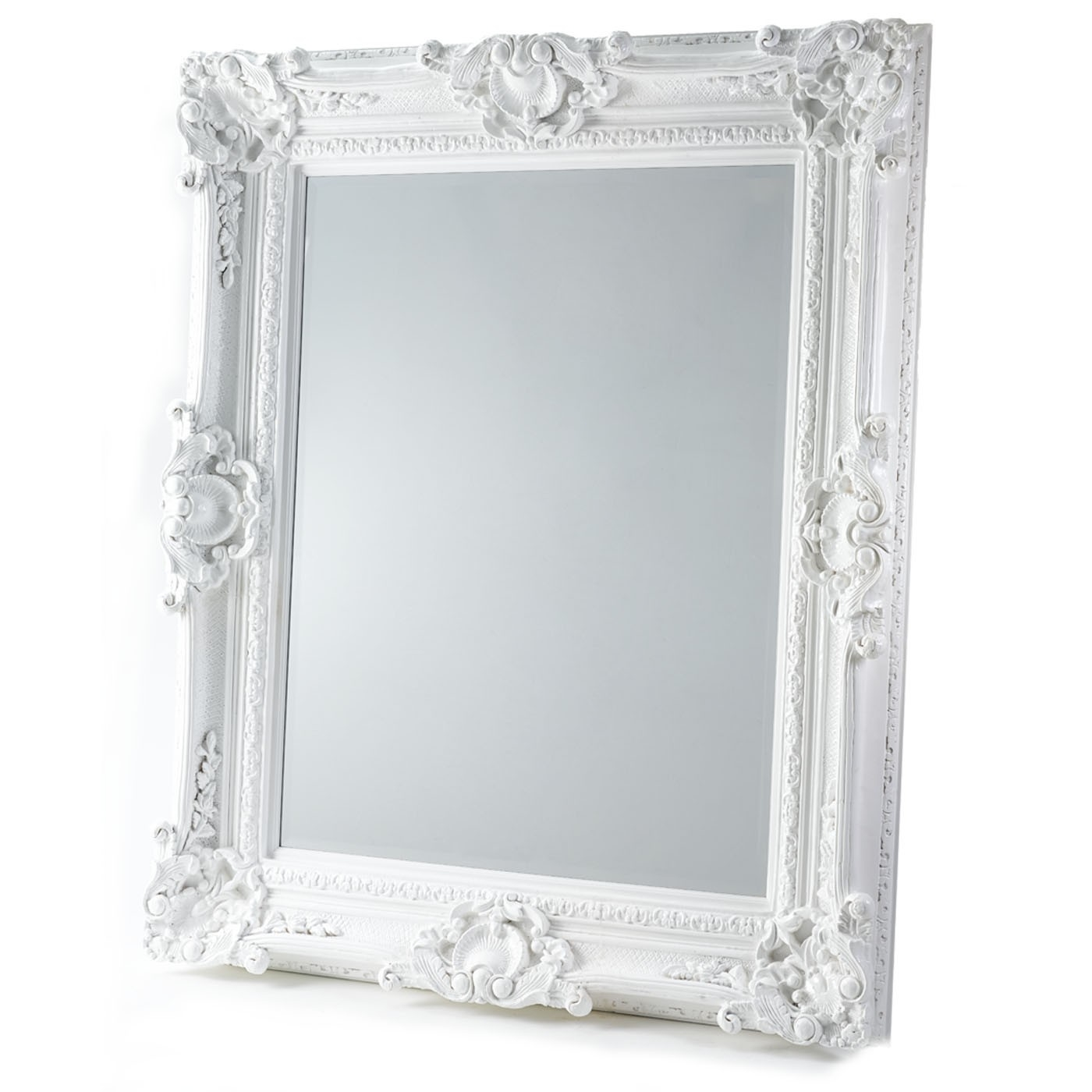 Featured Image of Baroque White Mirror