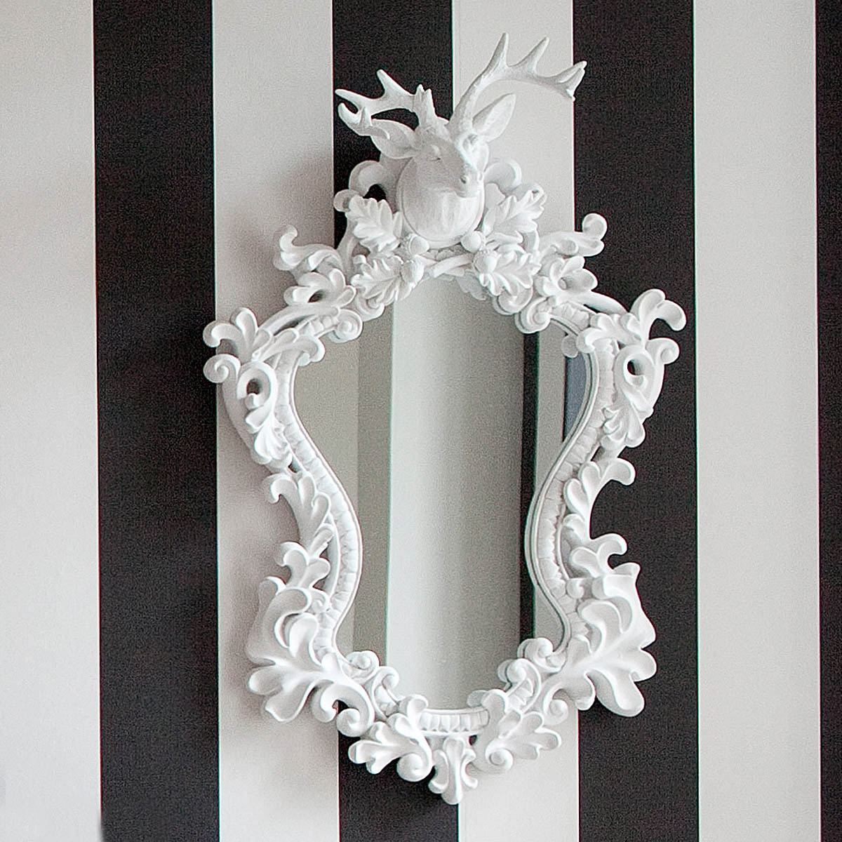Large White Mirrors For Walls Mirror Design Ideas Within Pretty Mirrors For Walls (Image 9 of 15)