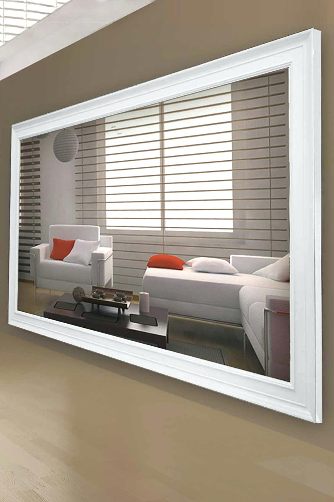 Large Wooden Wall Mirror Wall Mirror Ideas Pertaining To Large Wall Mirrors (Image 12 of 15)