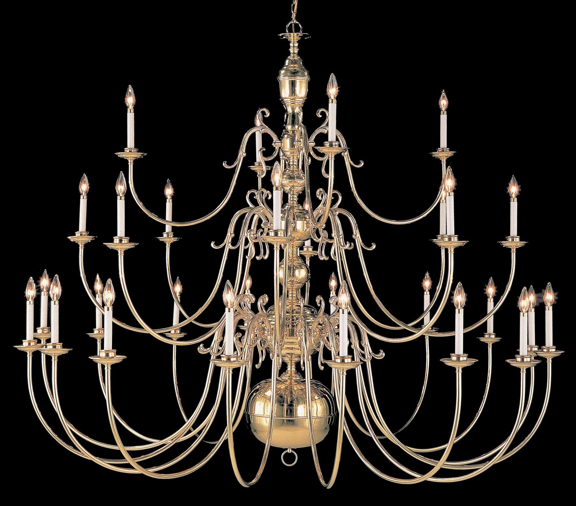 Largelighting Brassbronze Chandeliers Inside Large Bronze Chandelier (Image 9 of 15)
