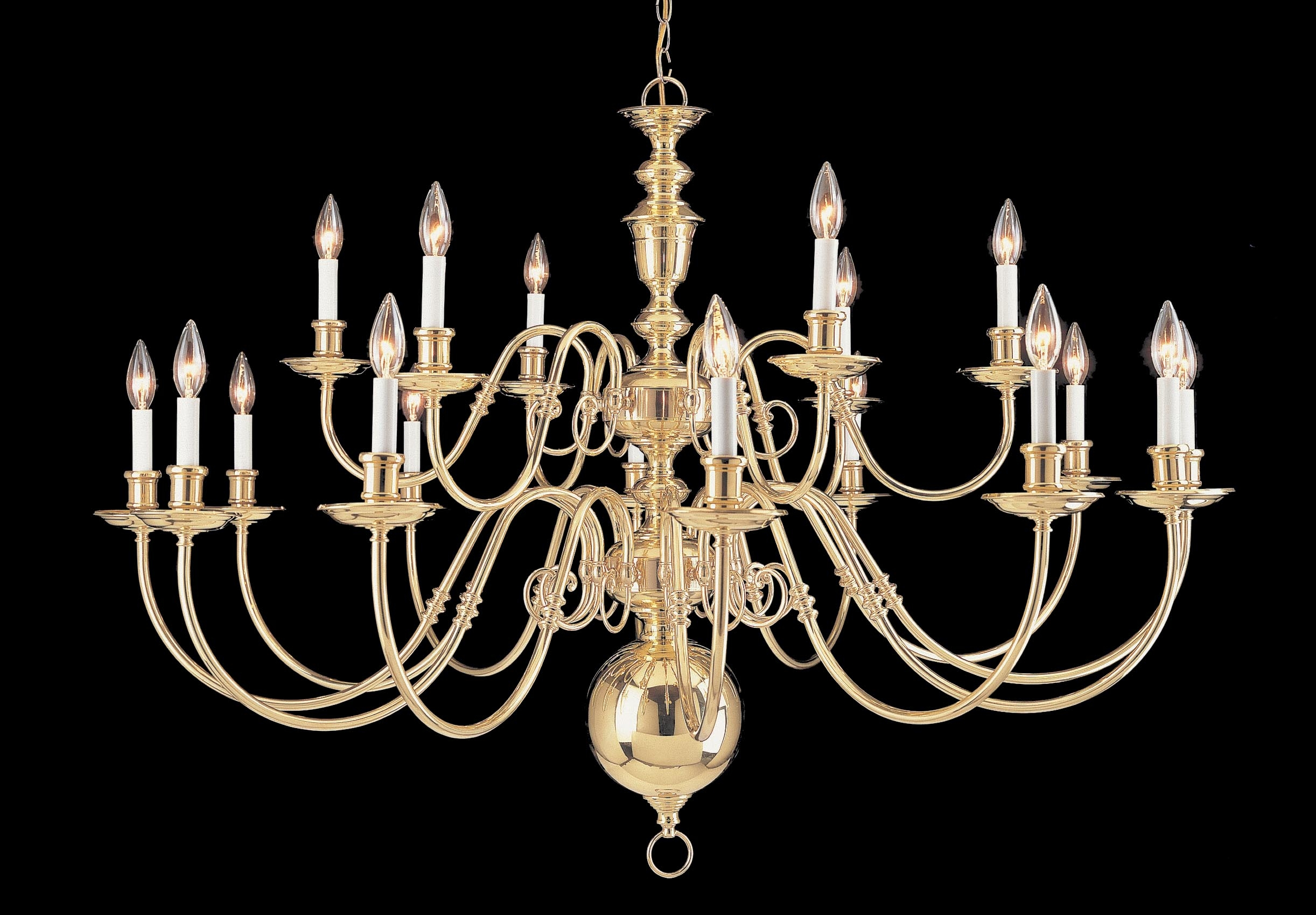 Largelighting Brassbronze Chandeliers With Large Bronze Chandelier (Image 10 of 15)