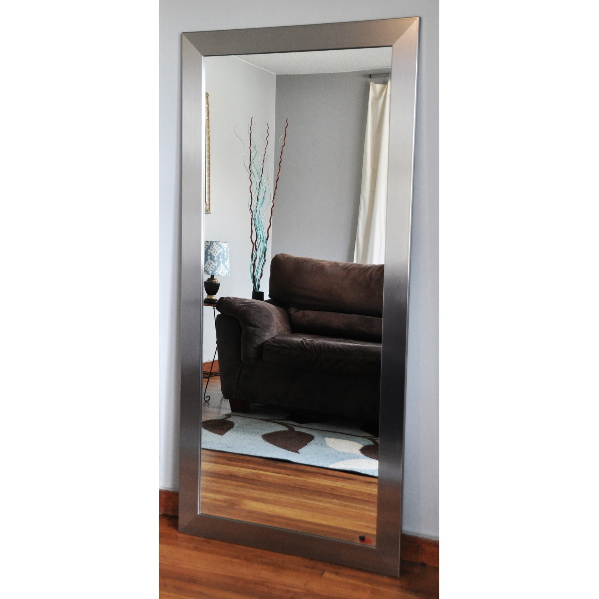 Latitude Run Wide Tall Mirror Reviews Wayfair With Tall Ornate Mirror (Image 9 of 15)
