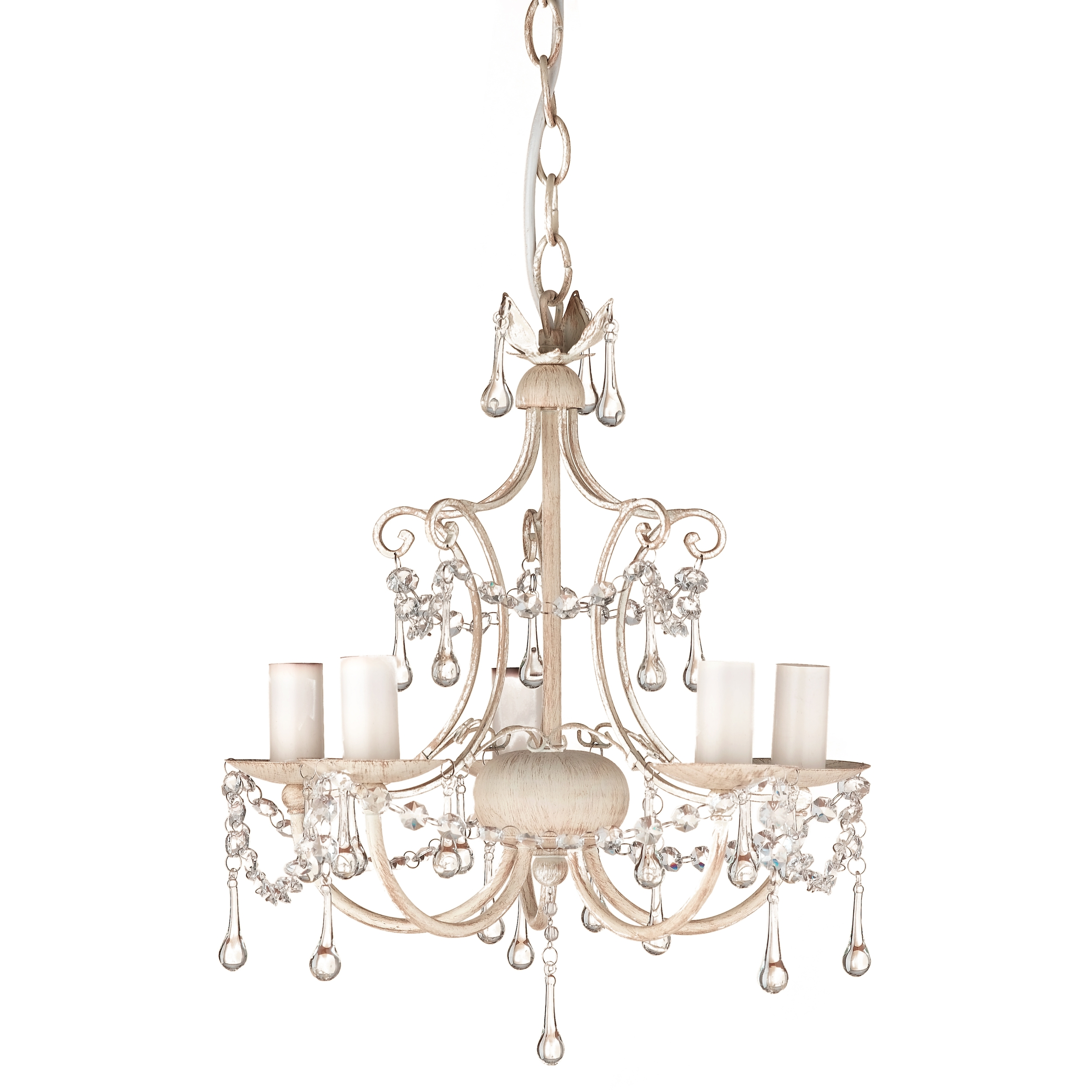Laura Ashley Chella Cream Five Light Chandelier Ideas For The Inside Cream Chandeliers (Image 12 of 15)