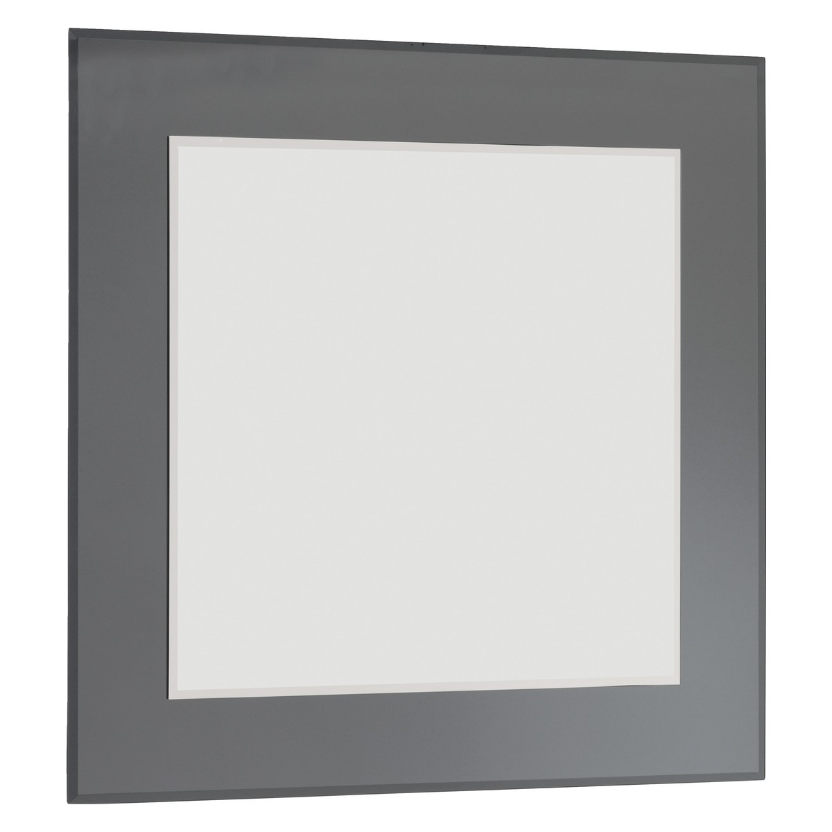 Lay 90 X 90cm Grey Square Wall Mirror Buy Now At Habitat Uk With Buy A Mirror (Image 13 of 15)