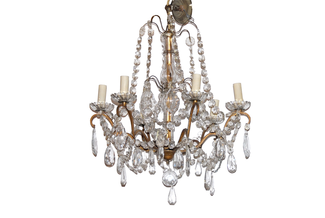 Le Barn Antiques The Le Barn Blog Pertaining To Antique French Chandeliers (View 14 of 15)