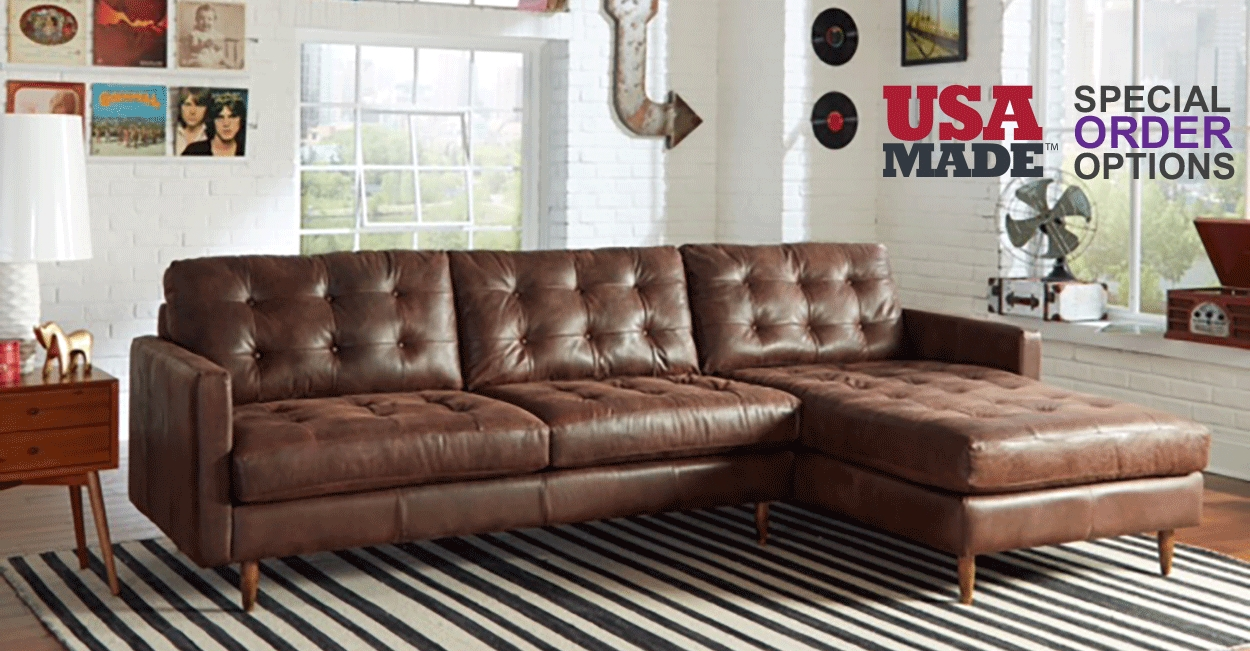 These 6 Pieces Of Colorful Furniture Are Absolute Must Haves: 15 Collection Of American Made Sectional Sofas