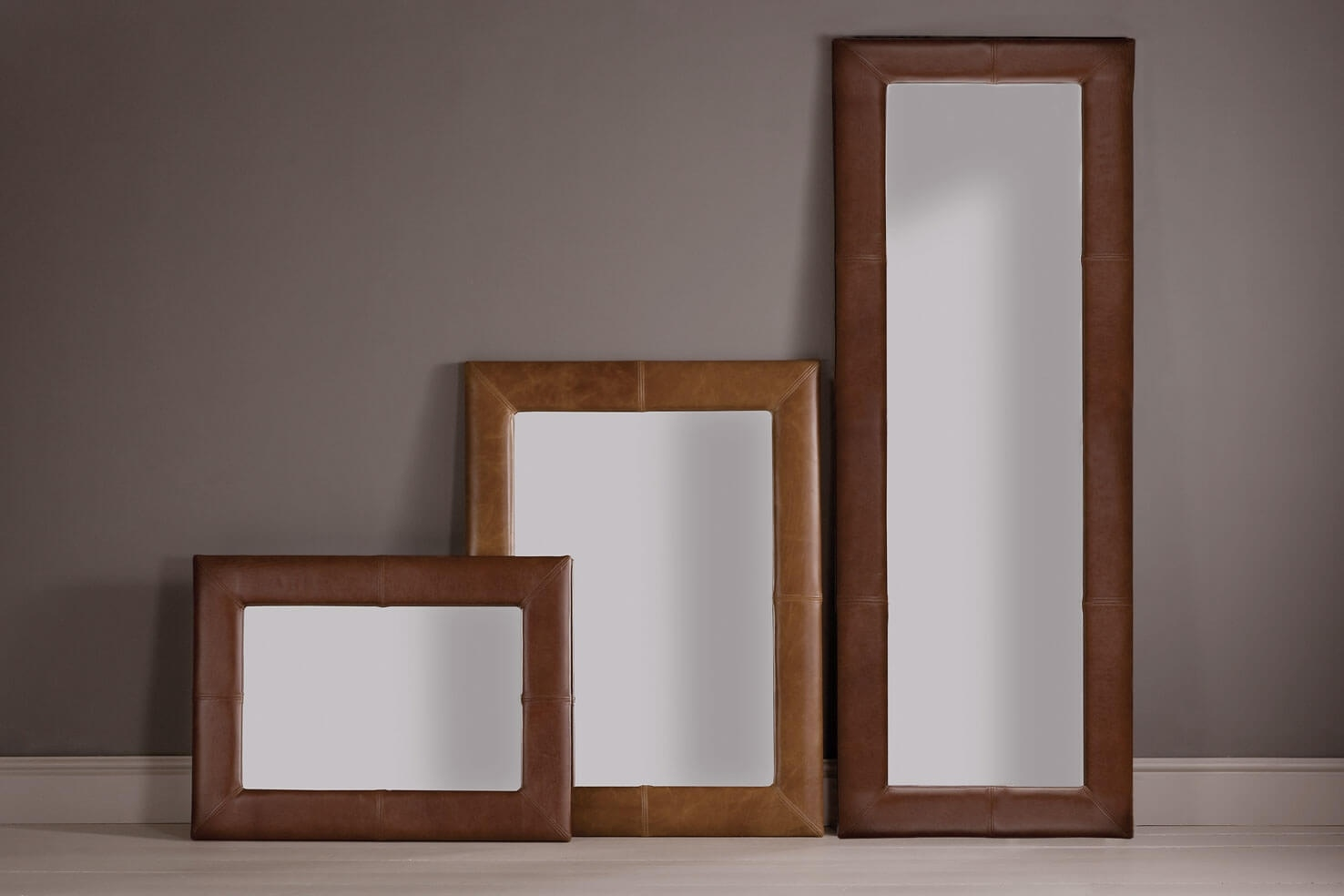 Featured Image of Leather Mirrors