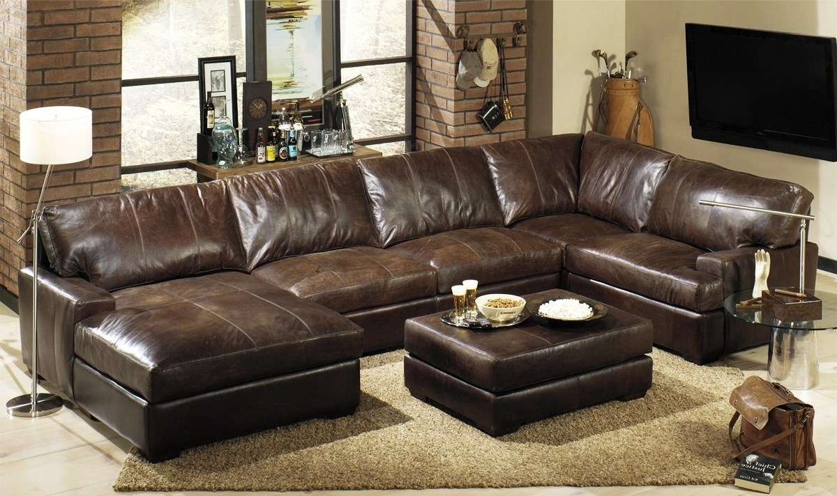 Leather Sectional Sofas Costcoleather Sectional Sofascover Tags In Closeout Sectional Sofas (Image 7 of 15)