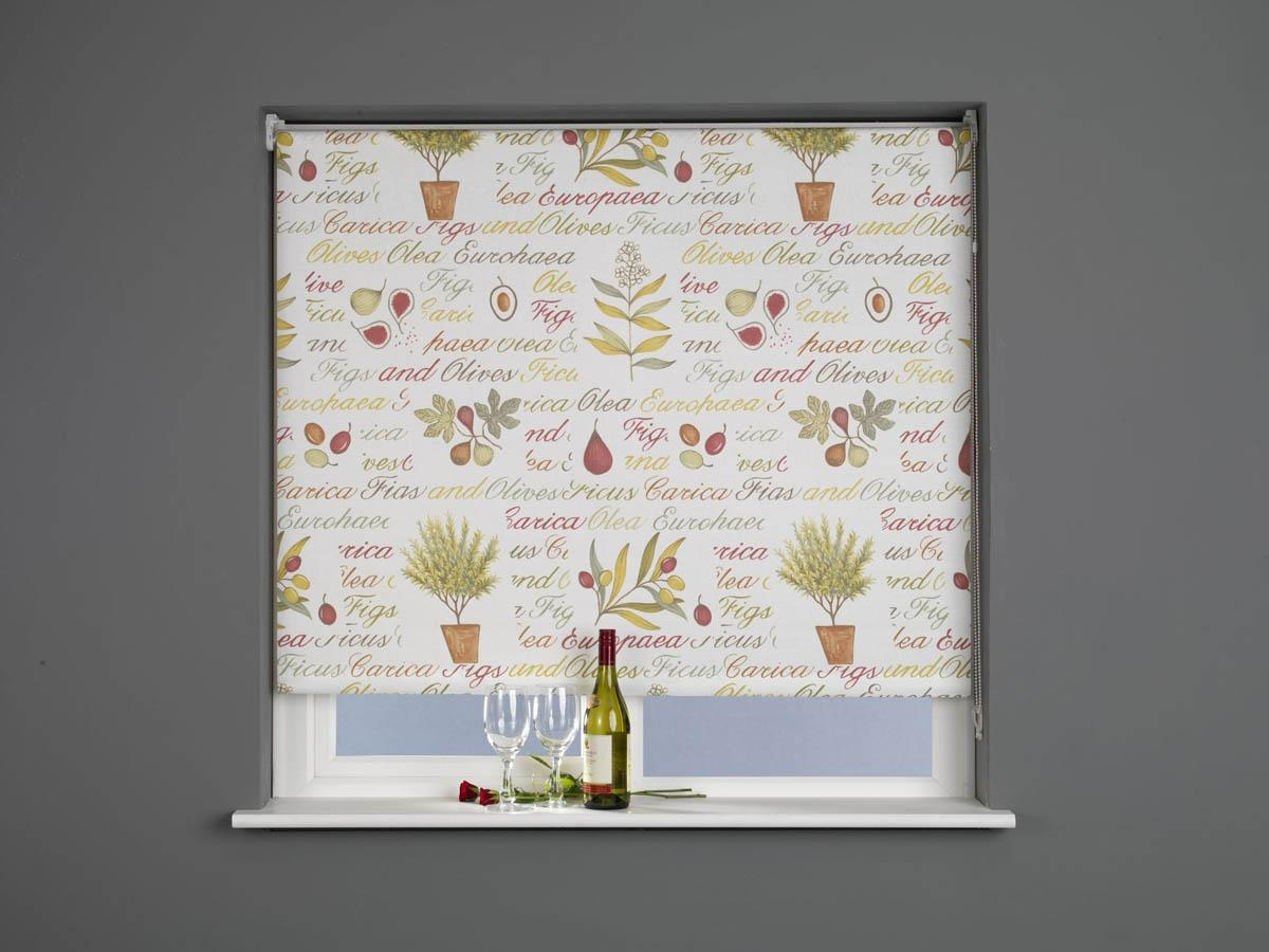 Lifestyle Roller Blind Kitchen Garden Free Uk Delivery Terrys In Red Roman Blinds Kitchen (View 12 of 15)