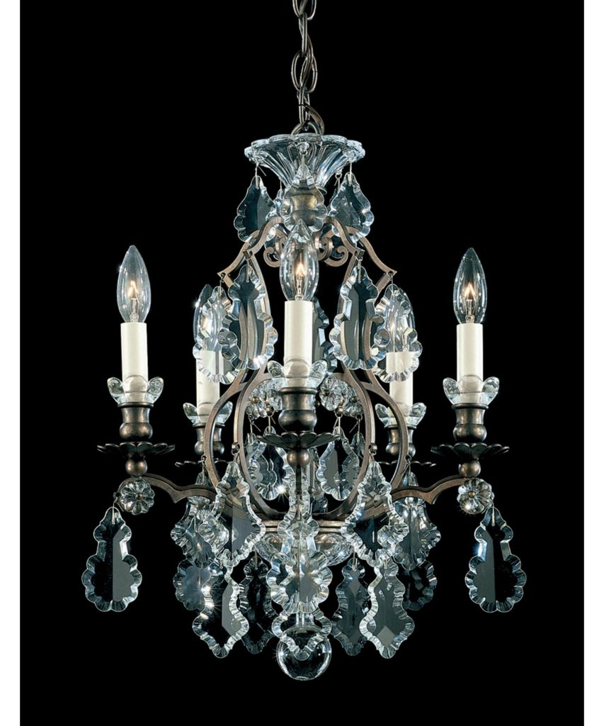 Lighting Bronze Chandelier With Crystals Bathroom Wall Sconces Pertaining To Chandelier Wall Lights (Image 4 of 15)