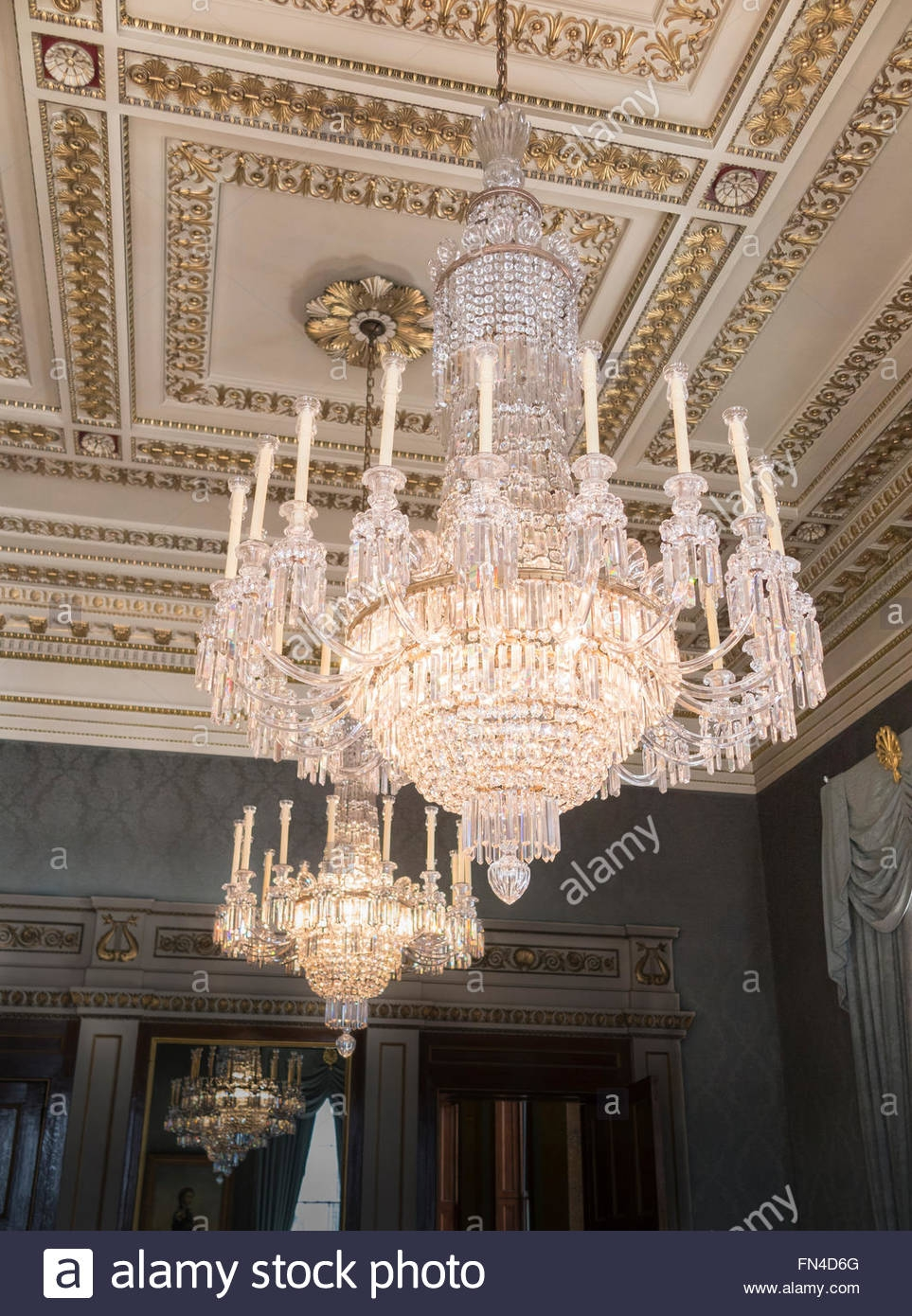 Lighting Chandeliers Ornate Room Stock Photos Lighting Regarding Ornate Chandeliers (Image 10 of 15)