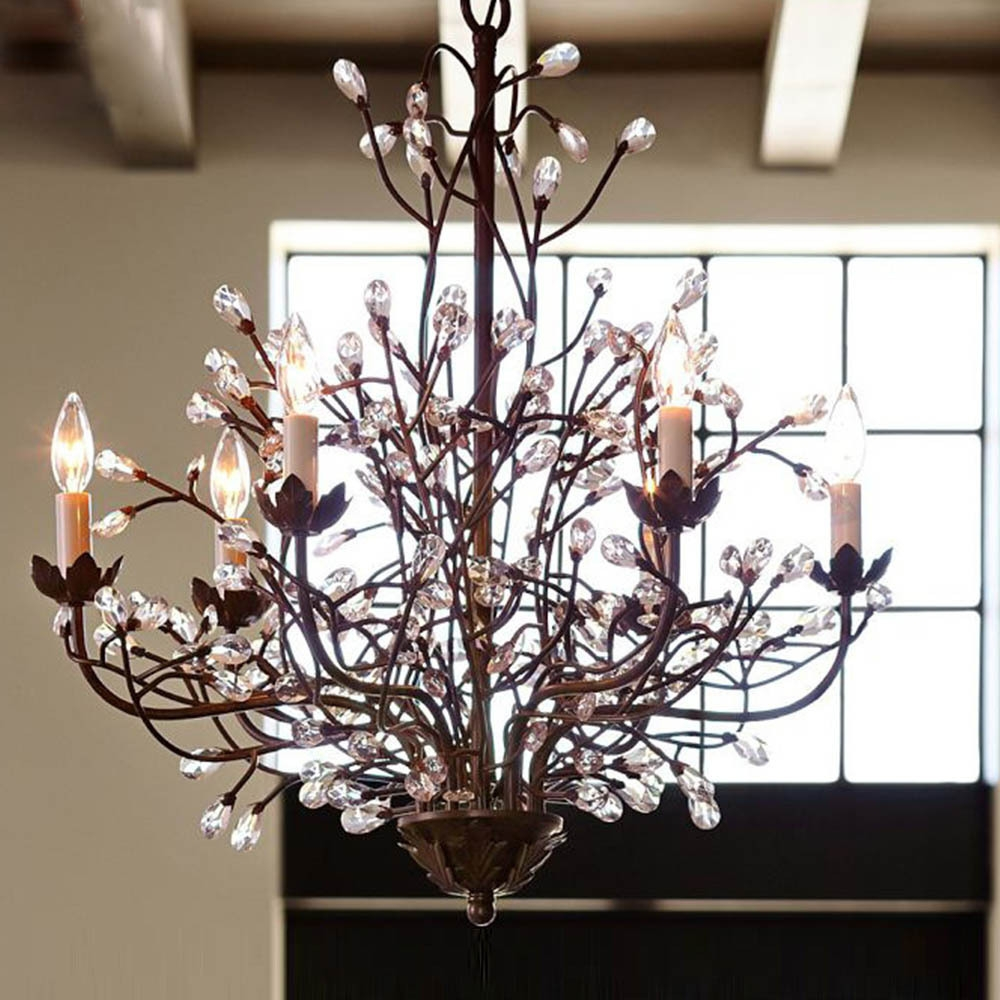 Lighting Cool Chandelier Project With Alluring Tree Branch For Modern Small Chandeliers (Image 9 of 15)