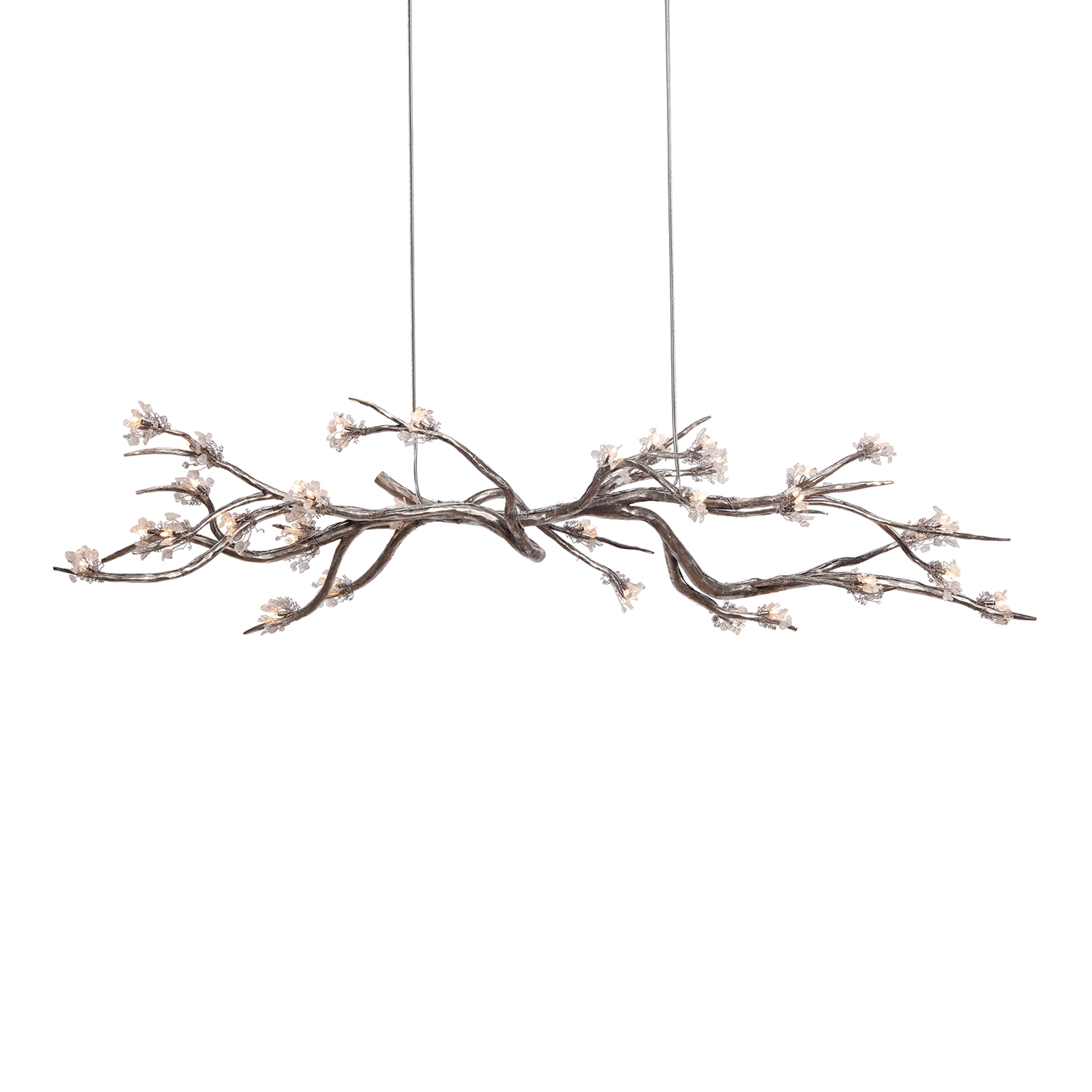 Lighting Cool Chandelier Project With Alluring Tree Branch In Crystal Branch Chandelier (Image 11 of 15)