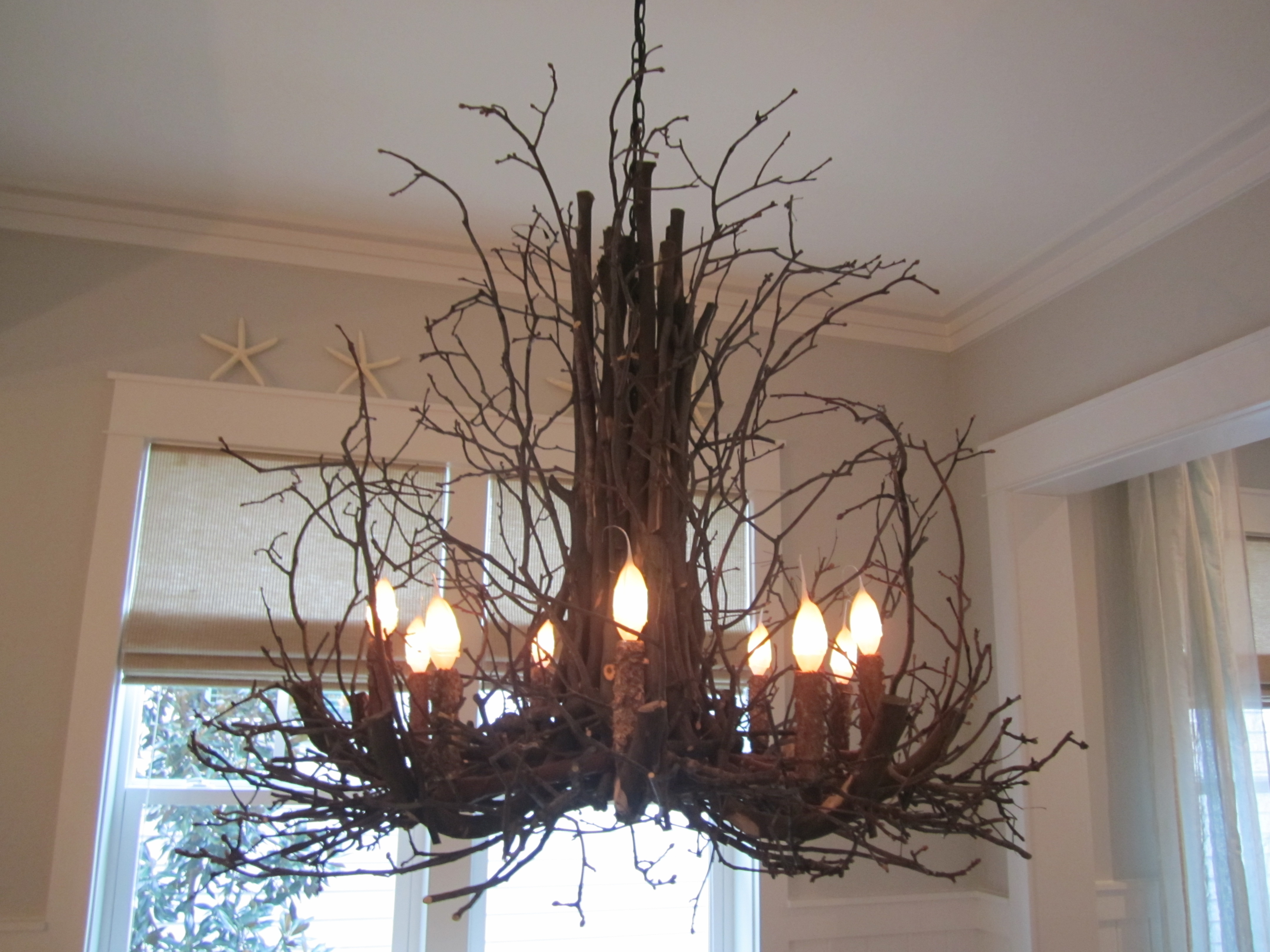 Lighting Cool Chandelier Project With Alluring Tree Branch Throughout Ultra Modern Chandeliers (Image 5 of 15)