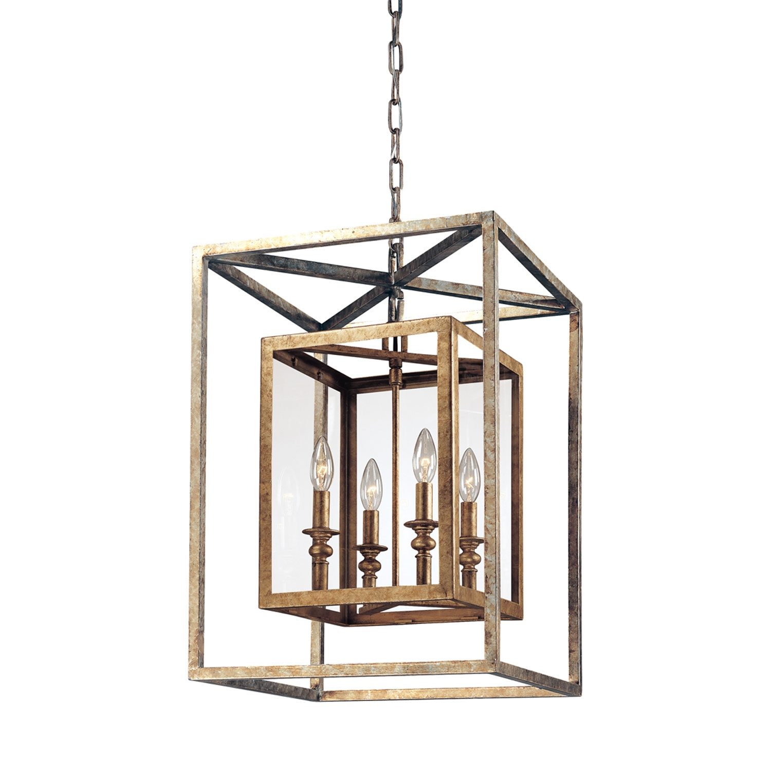 Lighting Interesting Lantern Pendant Light For Modern Kitchen Within Indoor Lantern Chandelier (Image 10 of 15)