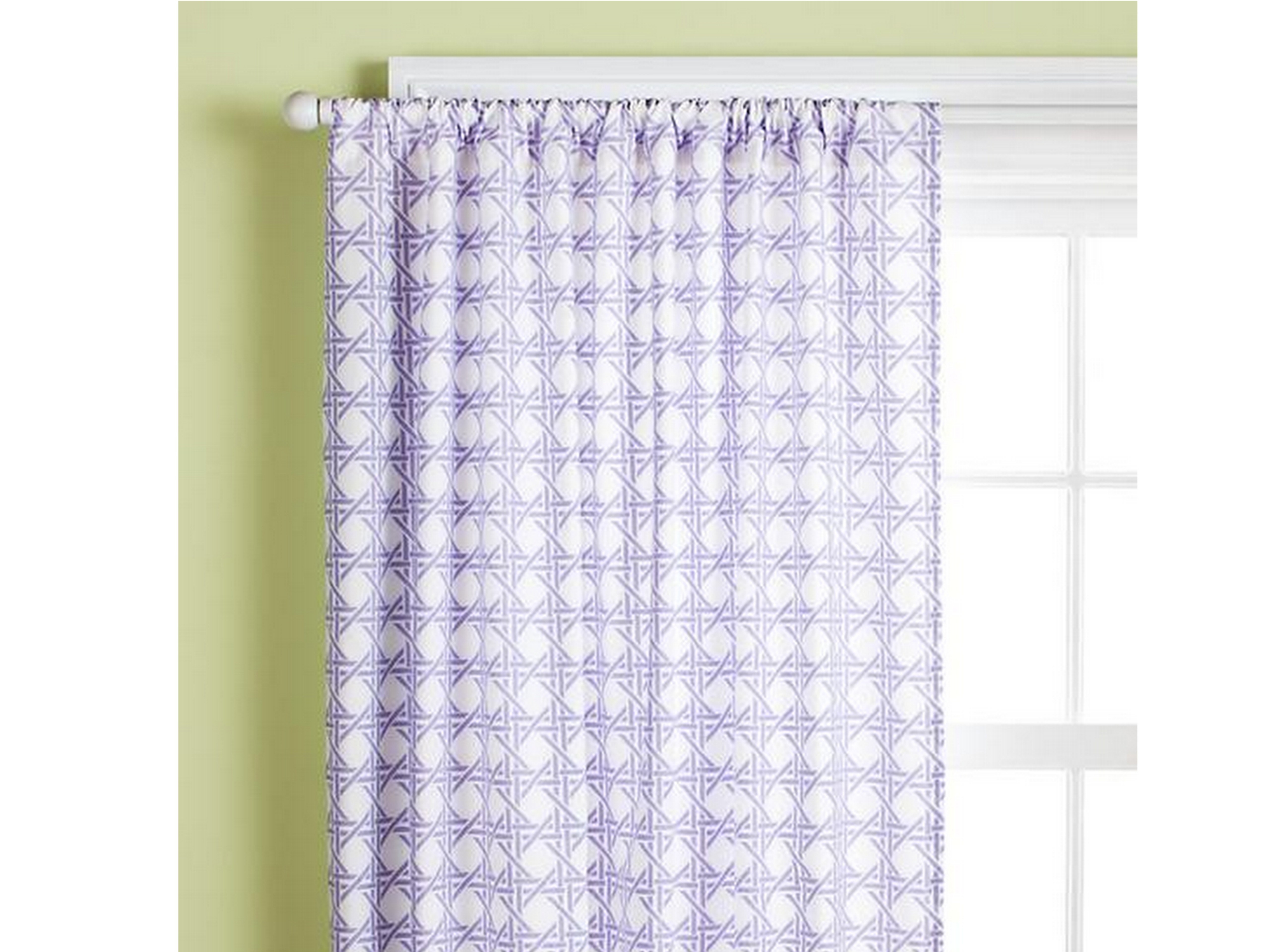 Lilac Nursery Curtains In Nursery Curtains (Image 8 of 15)