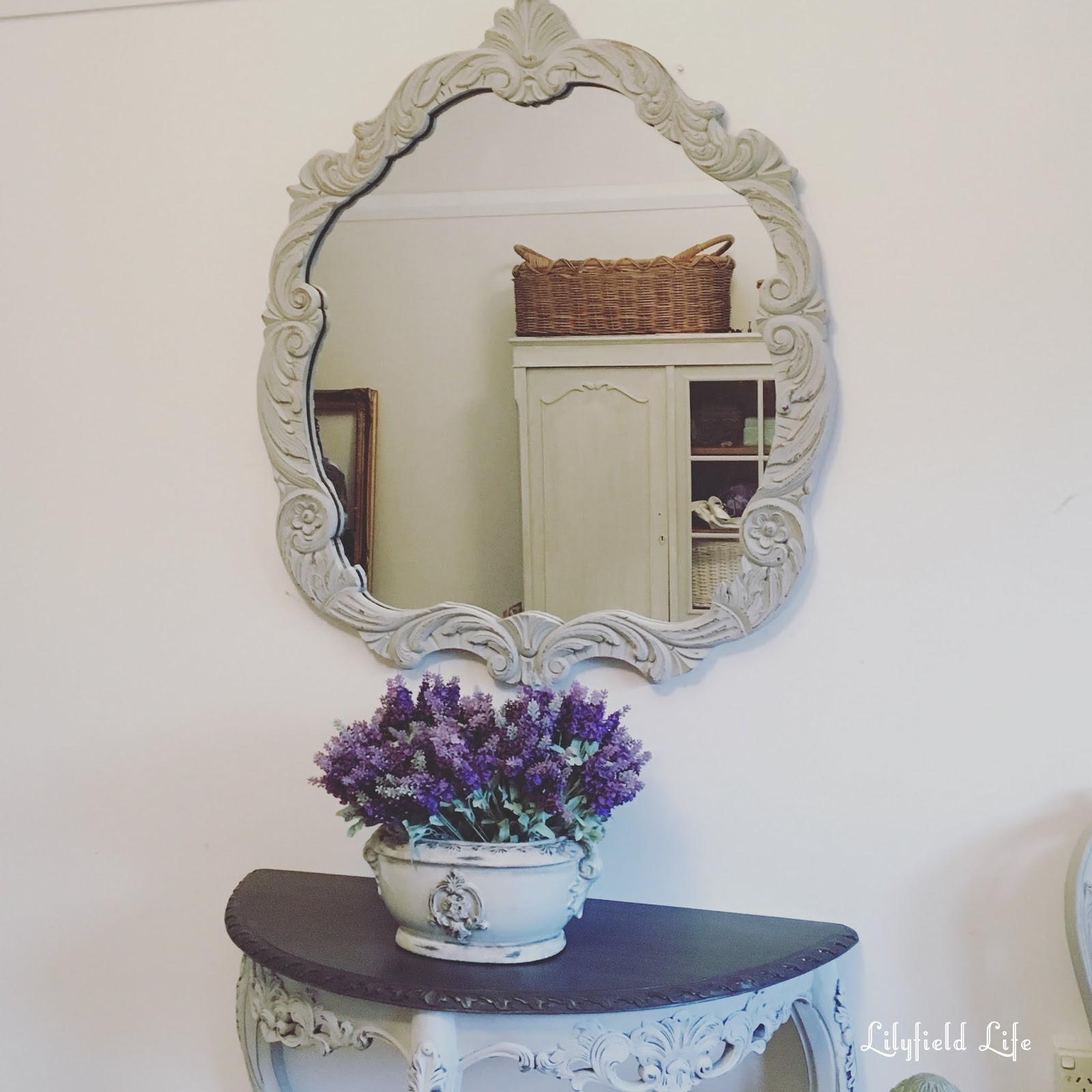 Lilyfield Life Gorgeous Painted Vintage Mirrors Intended For Buy Vintage Mirror (Image 9 of 15)