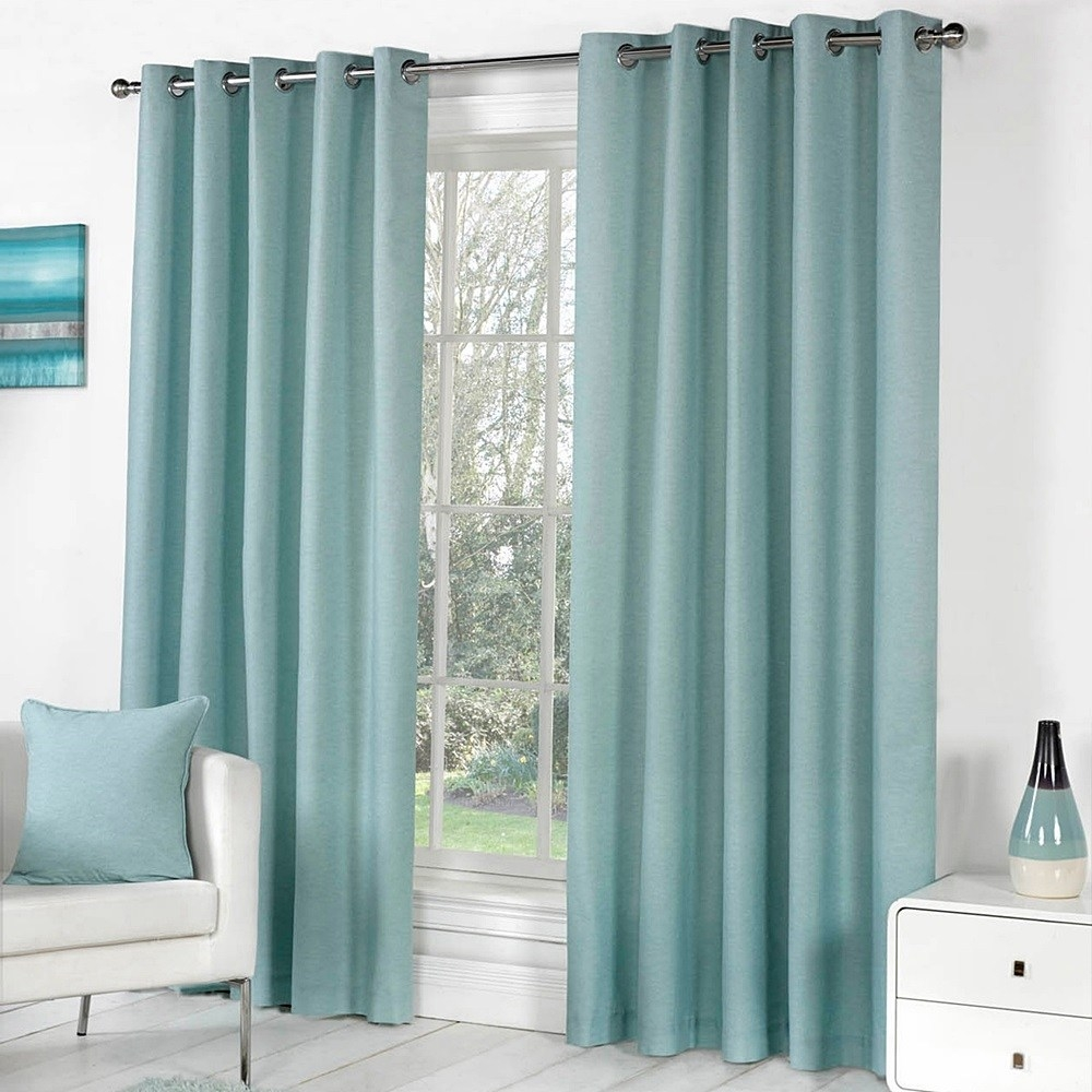 Lined Cotton Curtains In Lined Cotton Curtains (Image 7 of 15)