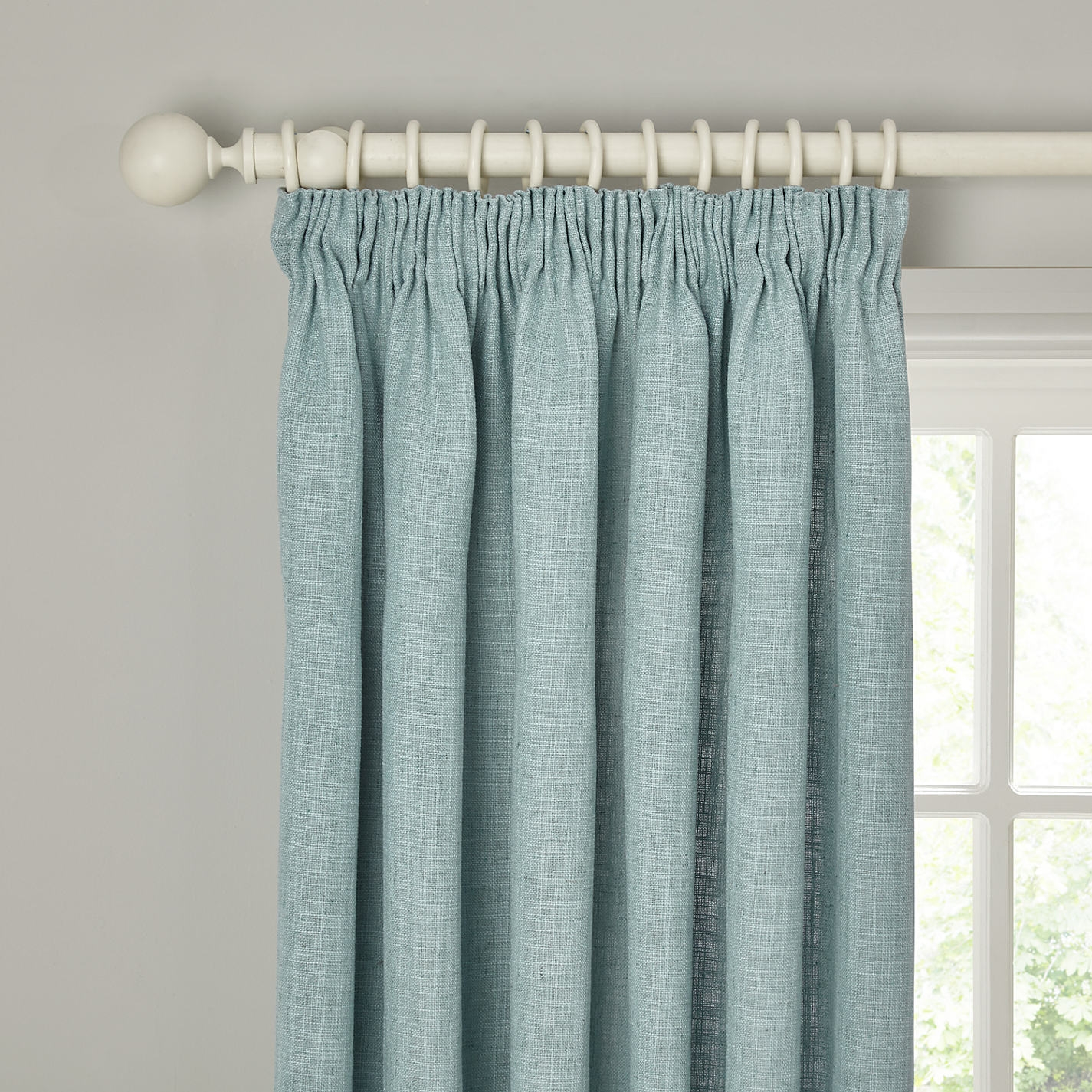 Lined Pencil Pleat Cotton Curtains Pencil Pleat Curtains Buying With Lined Cotton Curtains (Image 10 of 15)