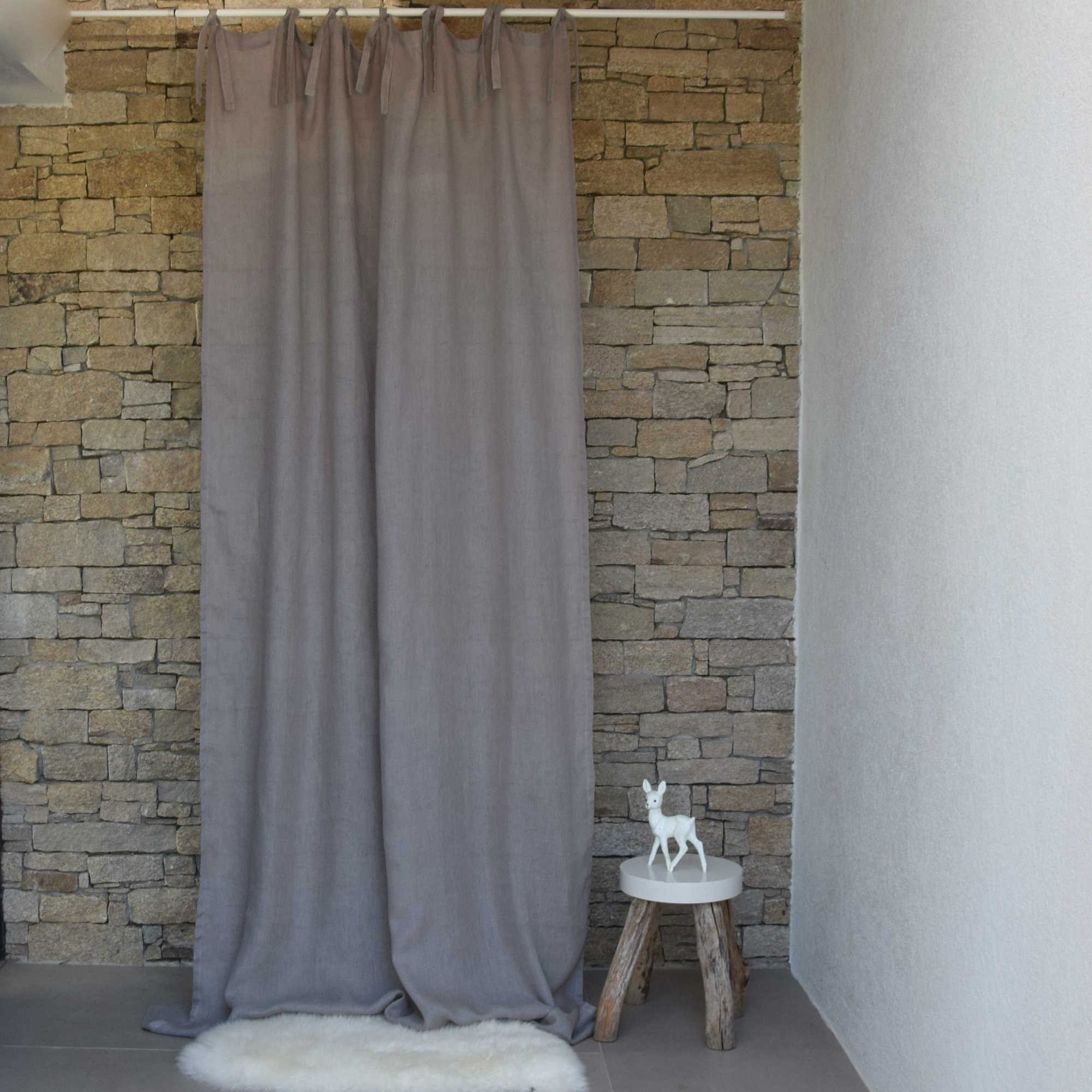 Linen Curtains Embroidered Curtains White Curtains Maison Dt With Linen Gauze Curtains (View 7 of 15)