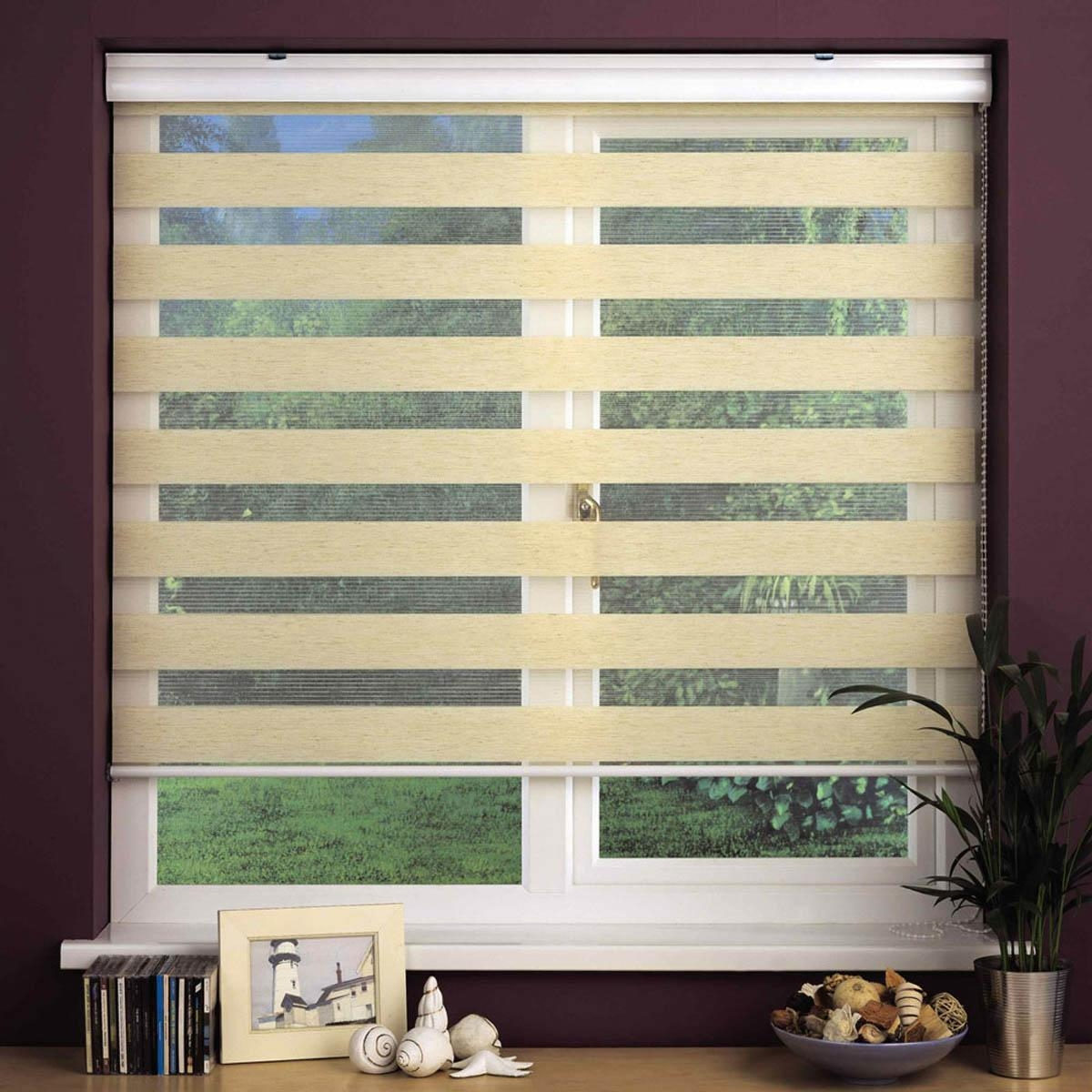 Linen Swish Sheer Elegance Drop Blind Free Uk Delivery Terrys With Regard To Sheer Roller Blind (View 3 of 15)