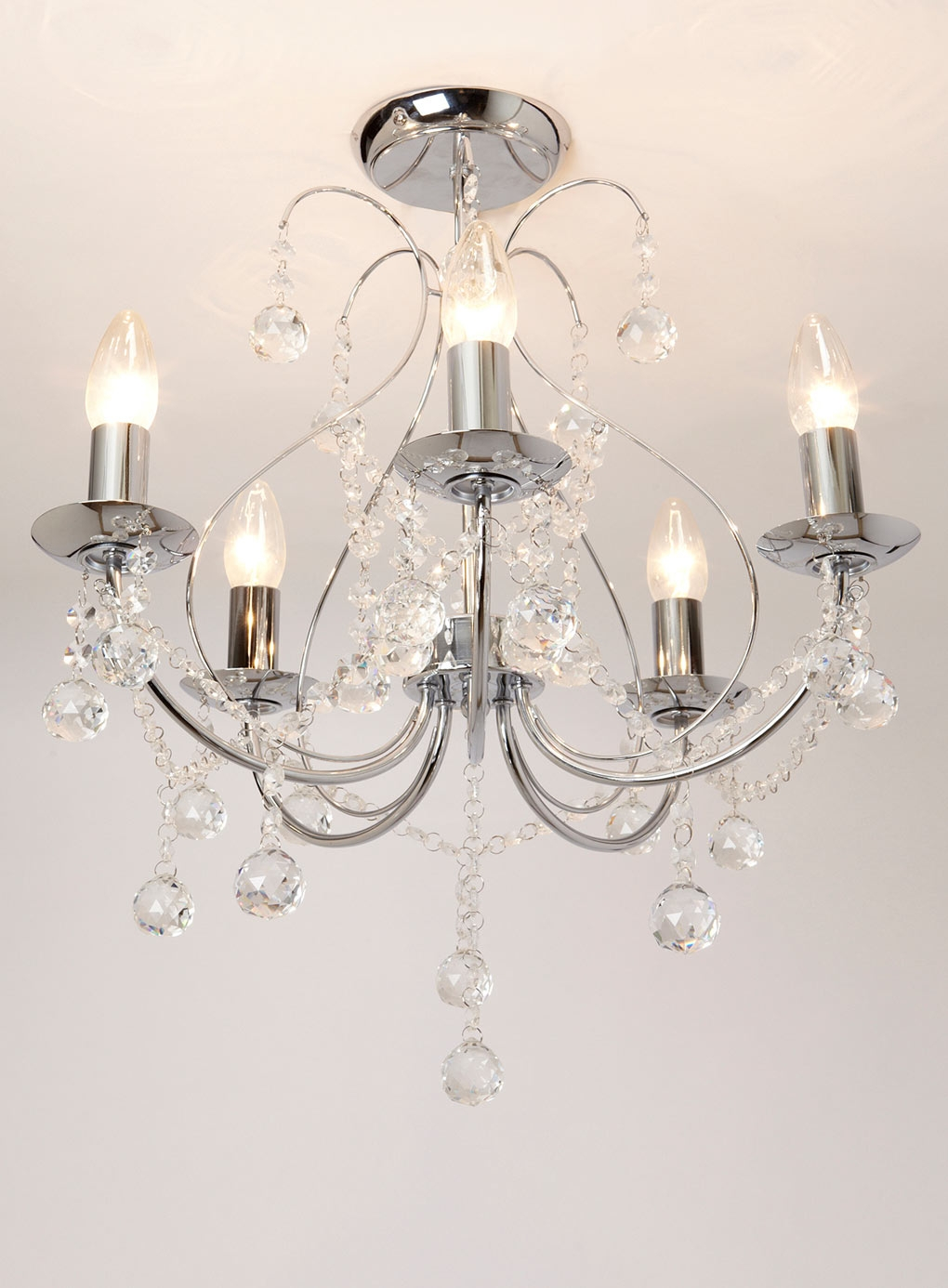 Living Room Light For The Home Pinterest Vintage Style Pertaining To Flush Fitting Chandelier (Image 14 of 15)