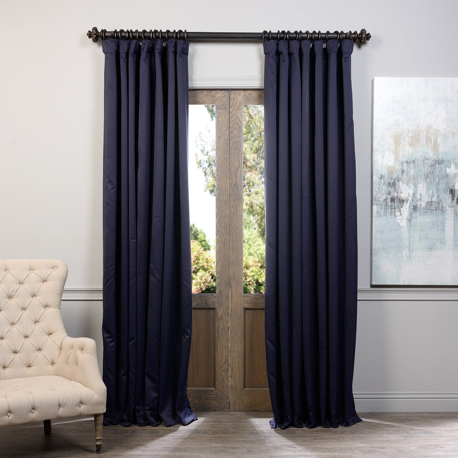 Lofty Inspiration Blackout Curtains 108 Inches Blackout Curtains In Extra Long Thermal Curtains (View 5 of 15)