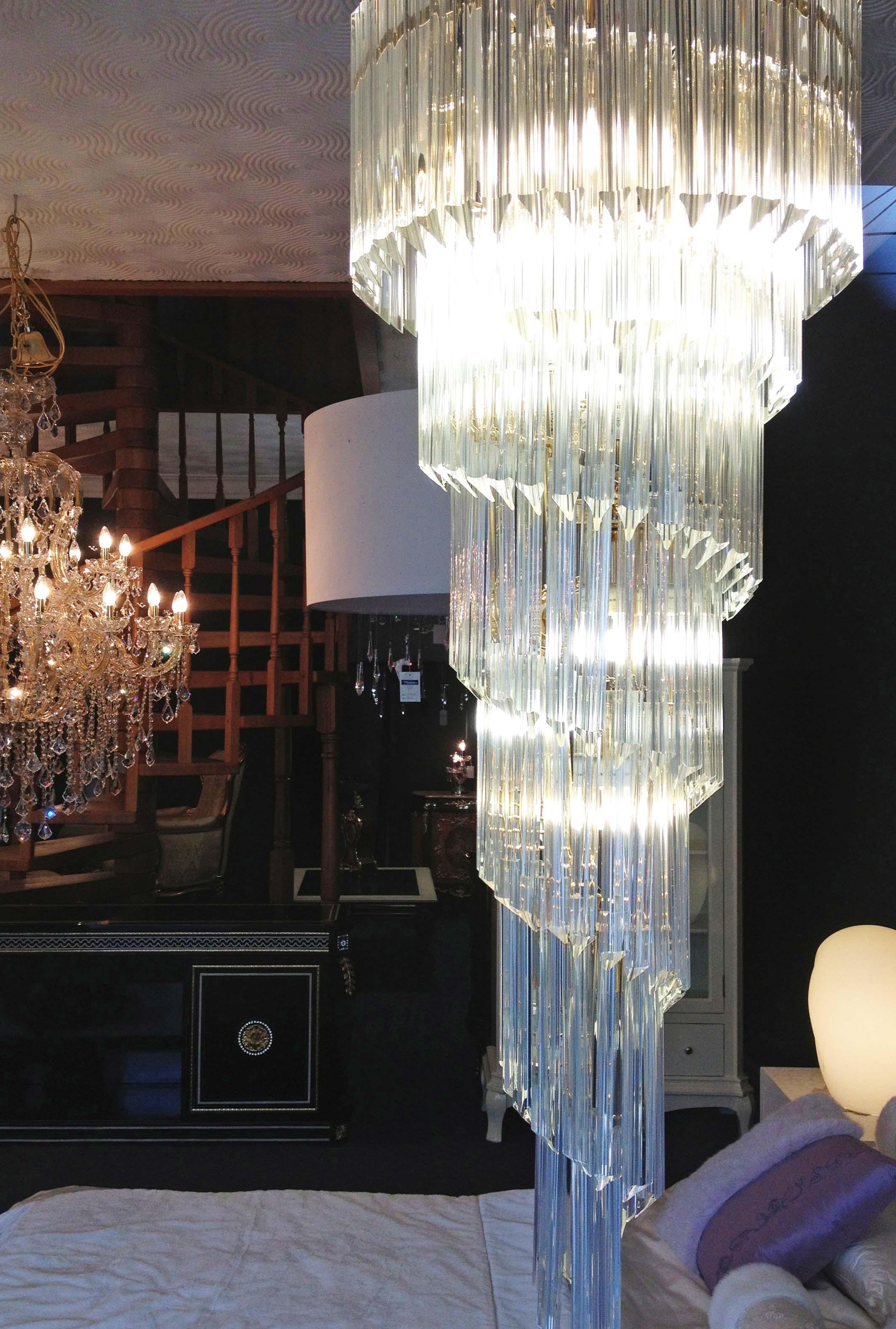 Long Chandelier Lighting For Long Chandelier Light (Image 11 of 15)