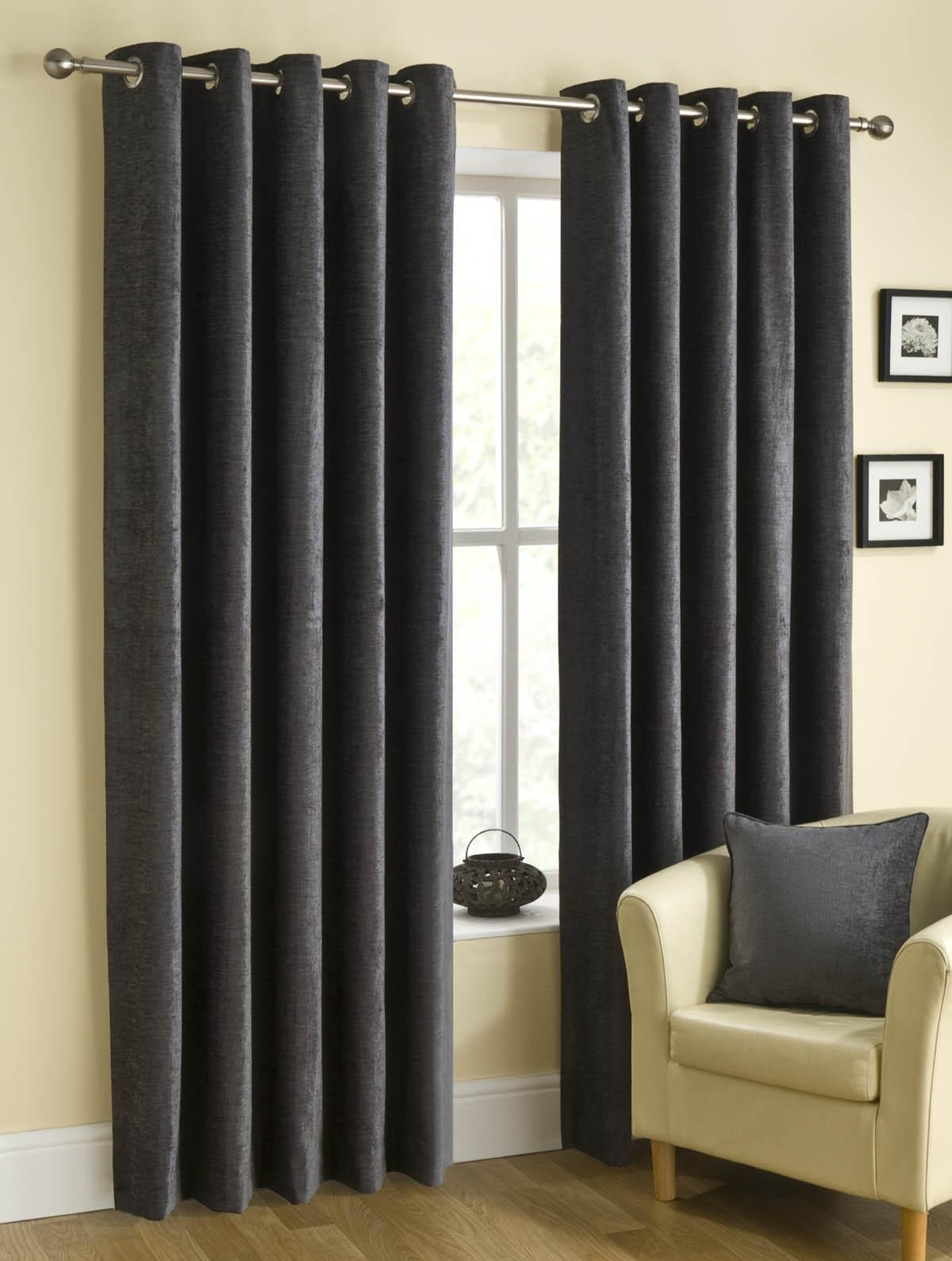 Featured Image of Long Eyelet Curtains