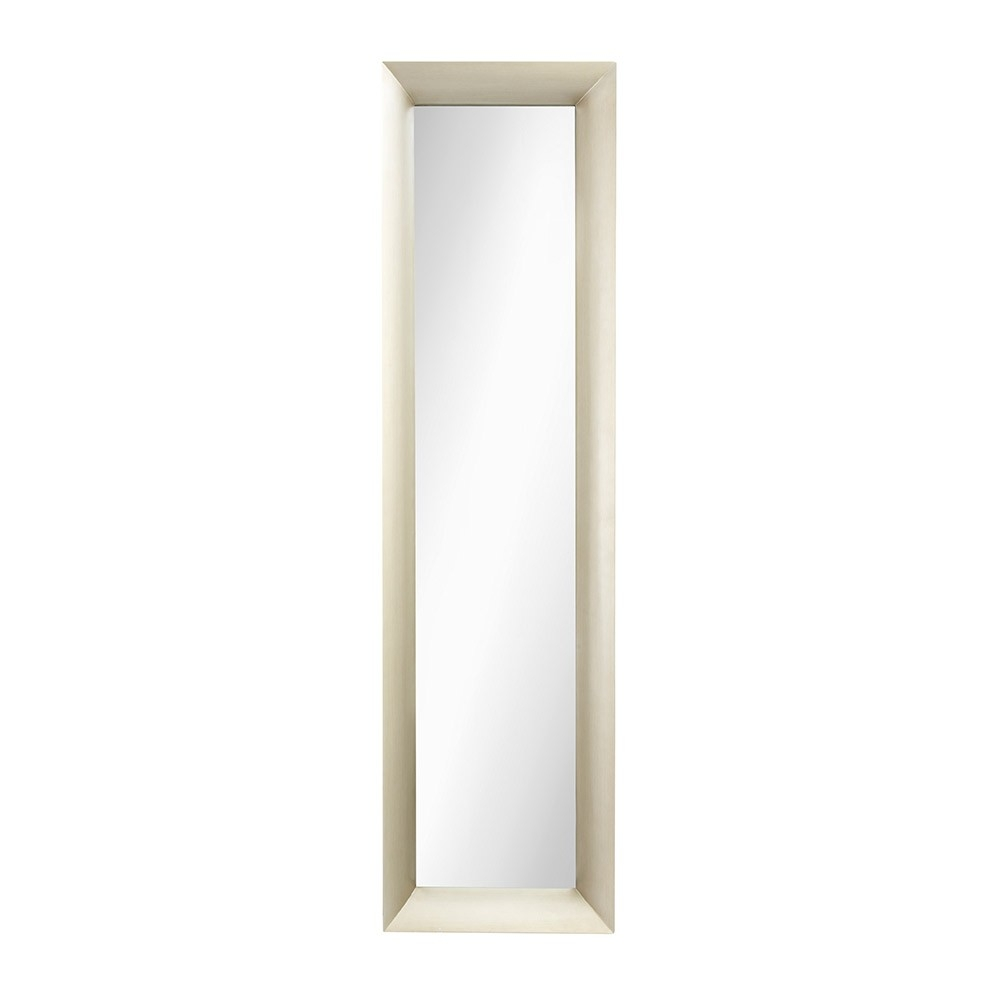 Long Wall Mirrors Xl Long Full Length Silver Wall Floor Mirror Intended For Long Silver Wall Mirror (Image 10 of 15)