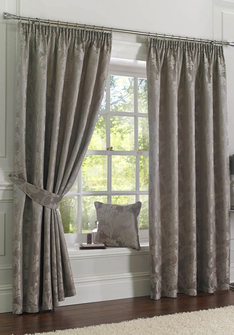 Long Wide And Bay Window Curtains Providing Hard To Get Curtain Regarding Ready Made Curtains For Large Bay Windows (Image 8 of 15)
