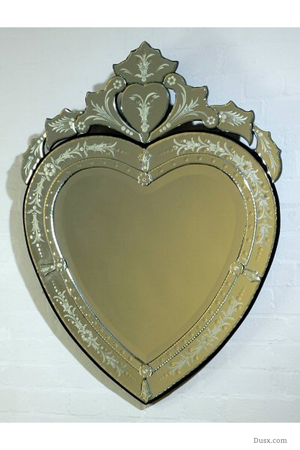 Lorelei French Rococo Gold Bevelled Mirror Sales Price 32400 Inside Heart Venetian Mirror (Image 9 of 15)