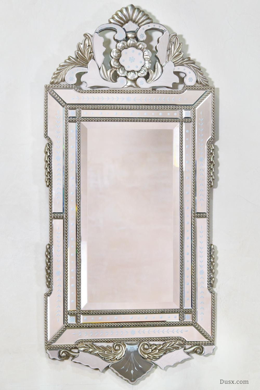 Lorelei French Rococo Gold Bevelled Mirror Sales Price 32400 Pertaining To French Mirrors For Sale (Image 11 of 15)