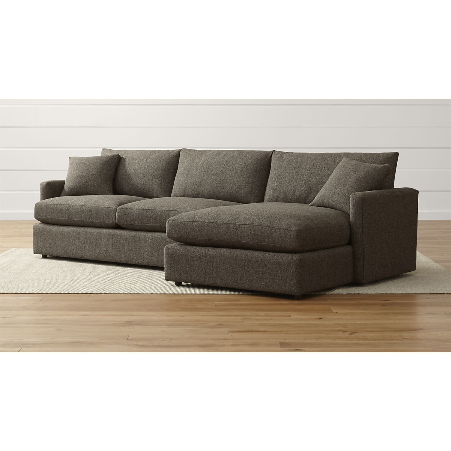 Sofa: Crate And Barrel Sectional Sofas (#6 Of 15 Photos